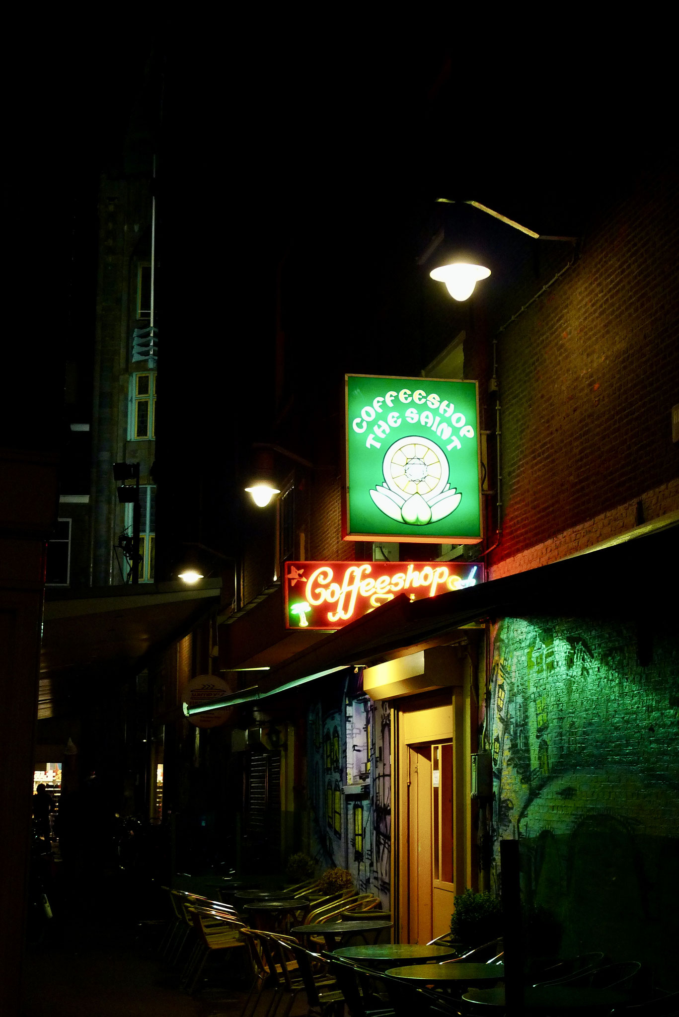 Silent night, Amsterdam
