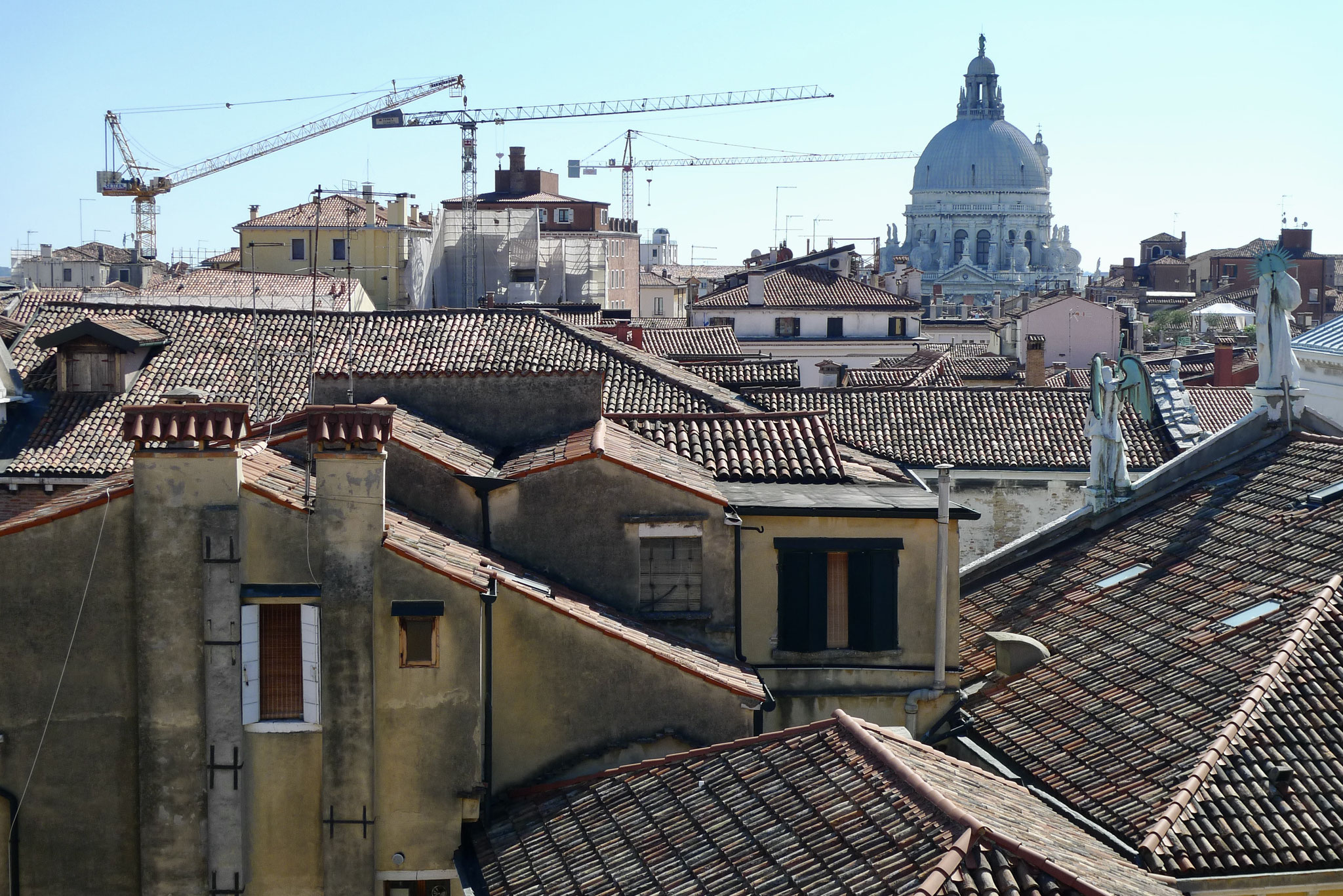 Rooftops and St. Mark's Basilica, Venice