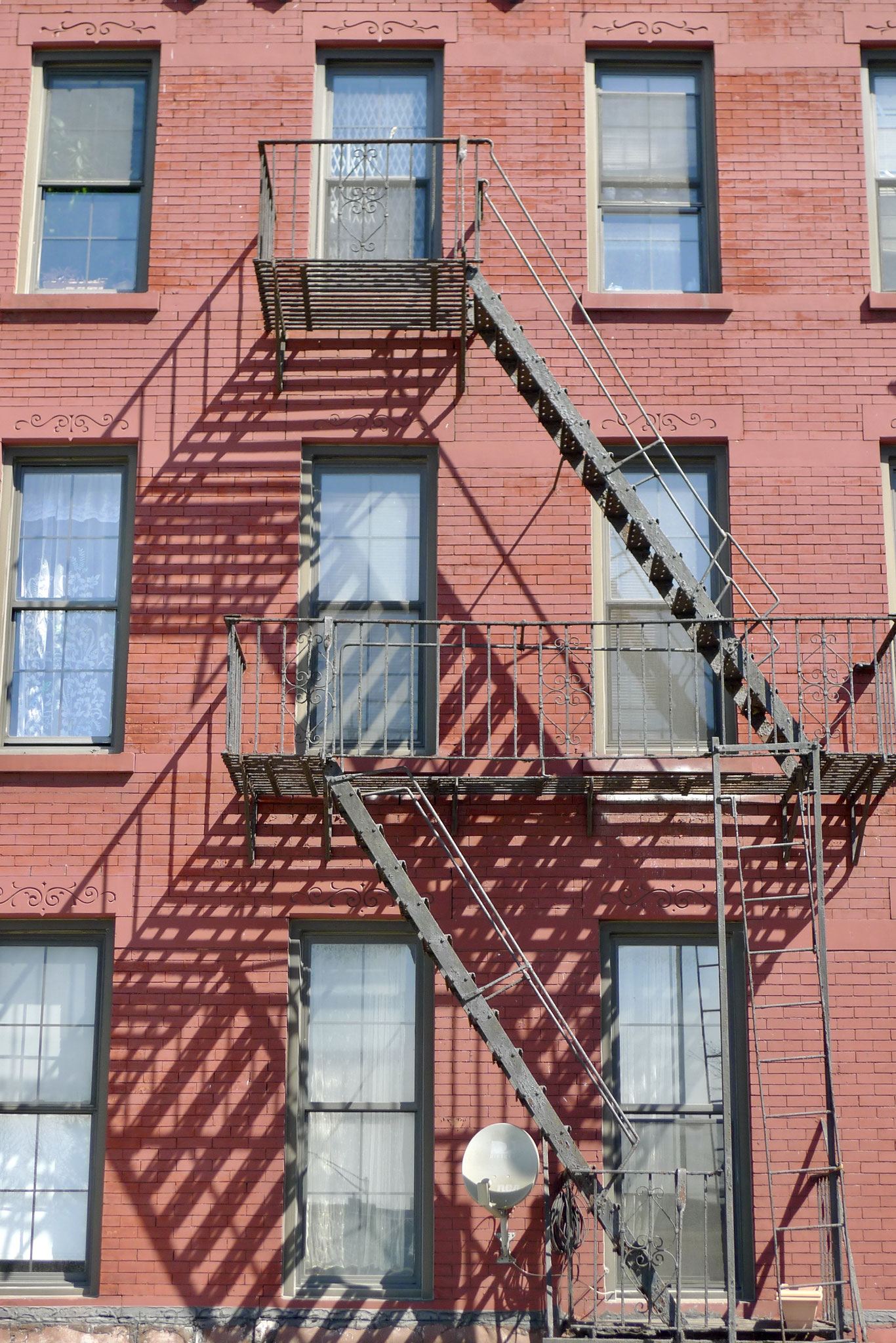 One of endless fire escapes, NYC