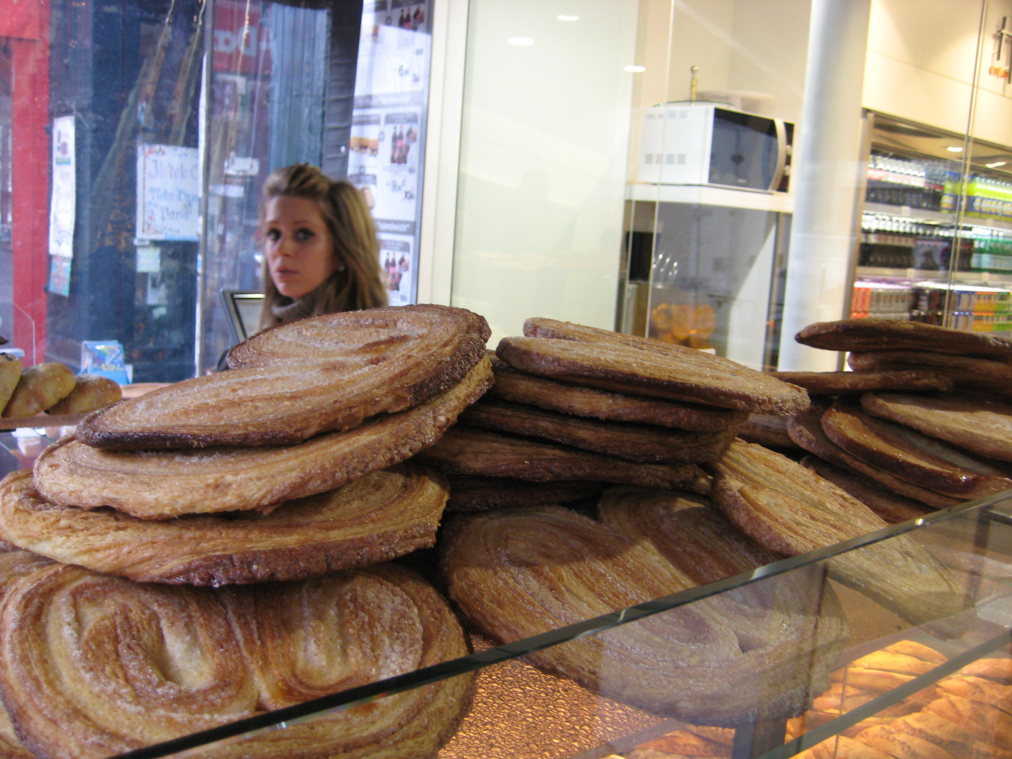 Shopkeeper and palmier (papillon)
