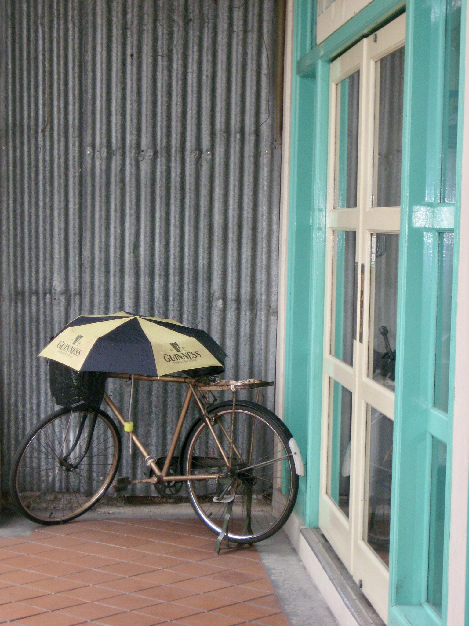 Kyoto umbrella bike
