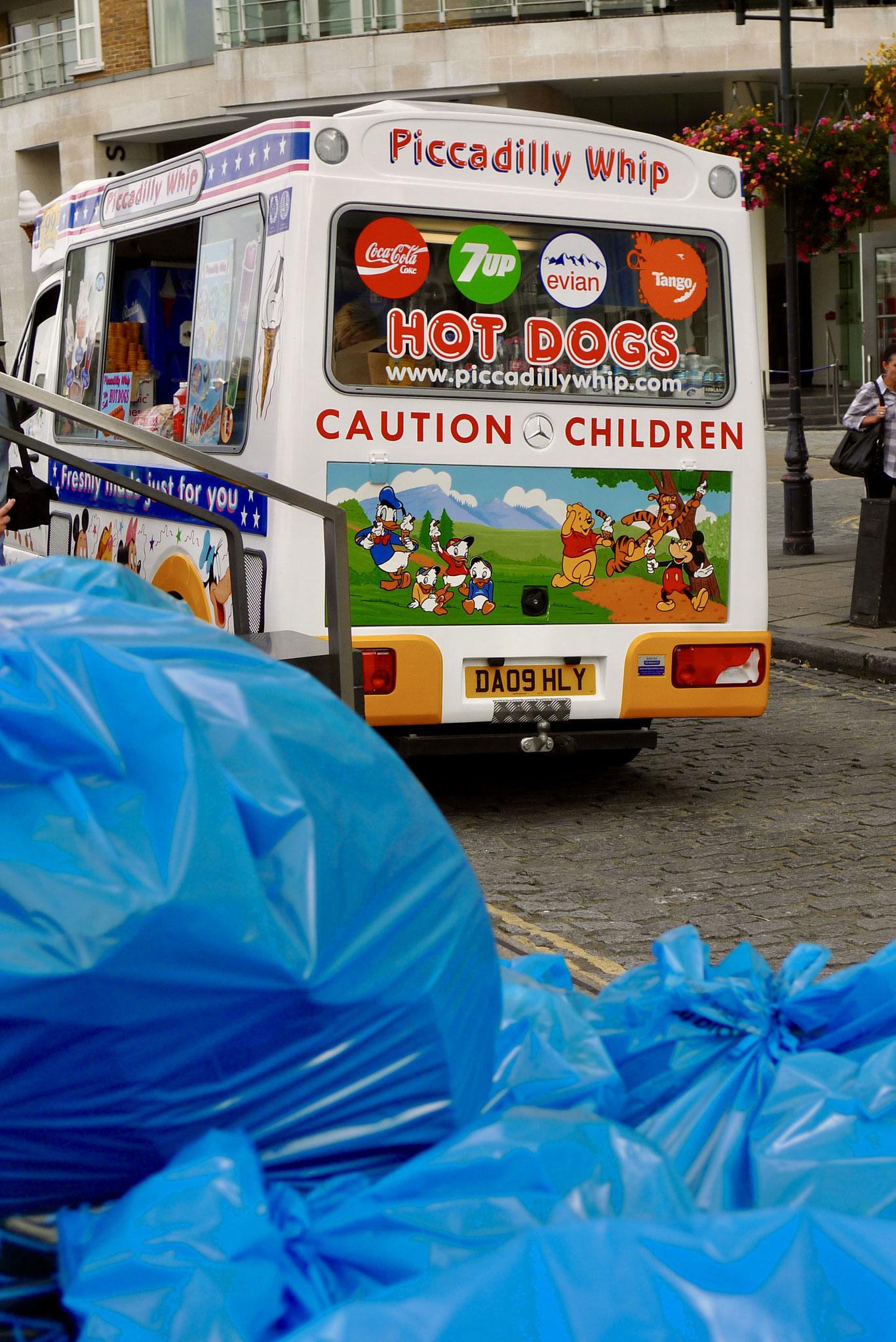 Trash and treats, London