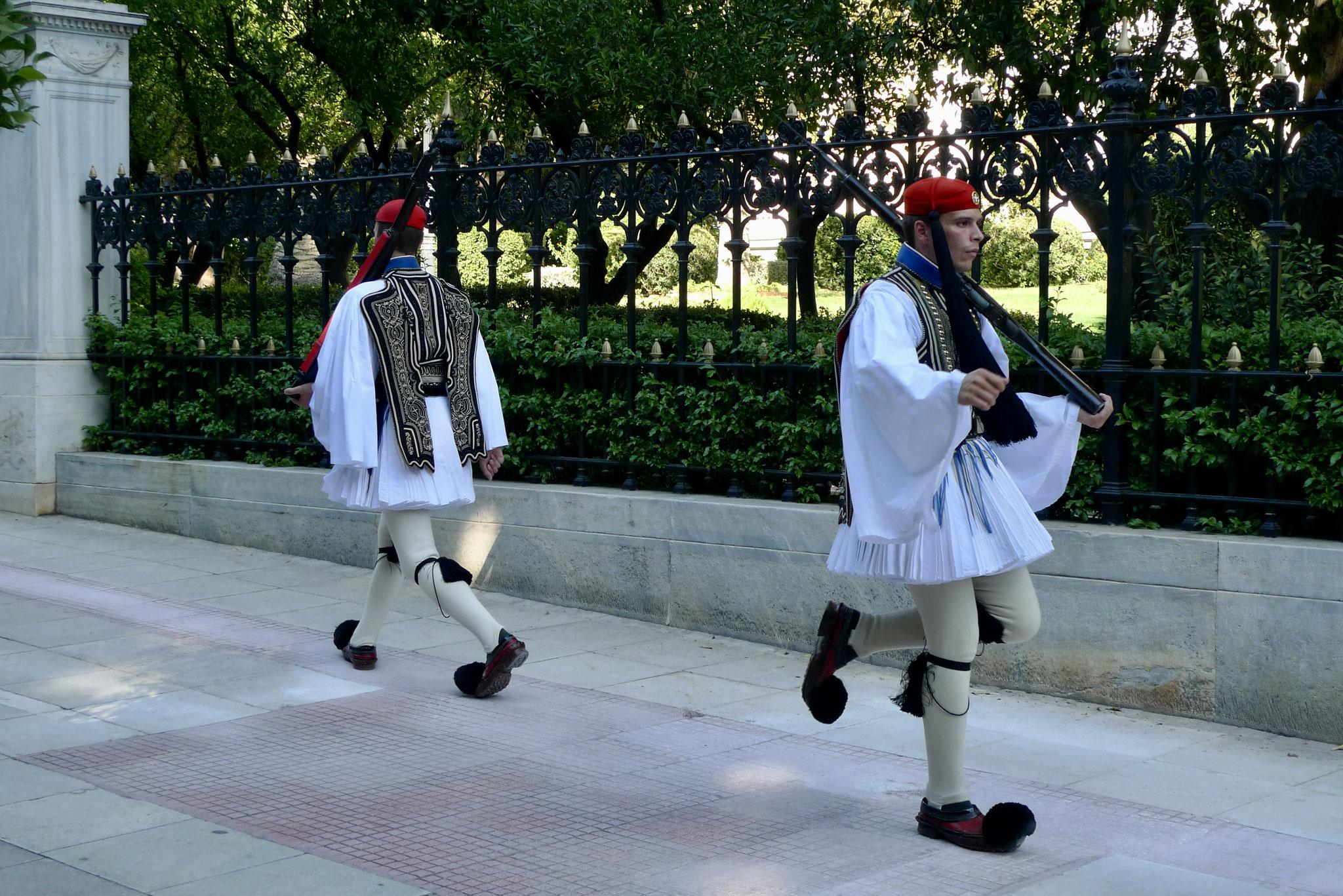 Evzones (Presidential Guards) 3
