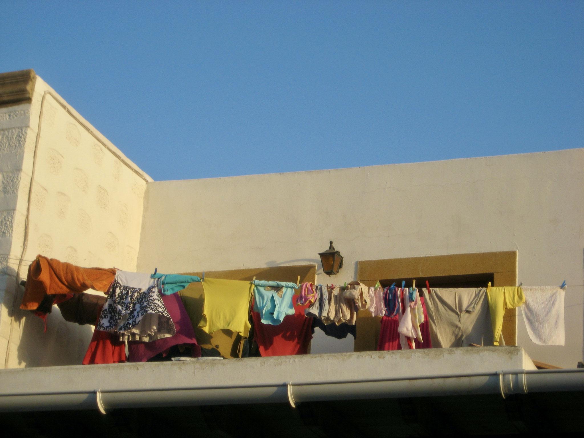 Laundry day, Santorini