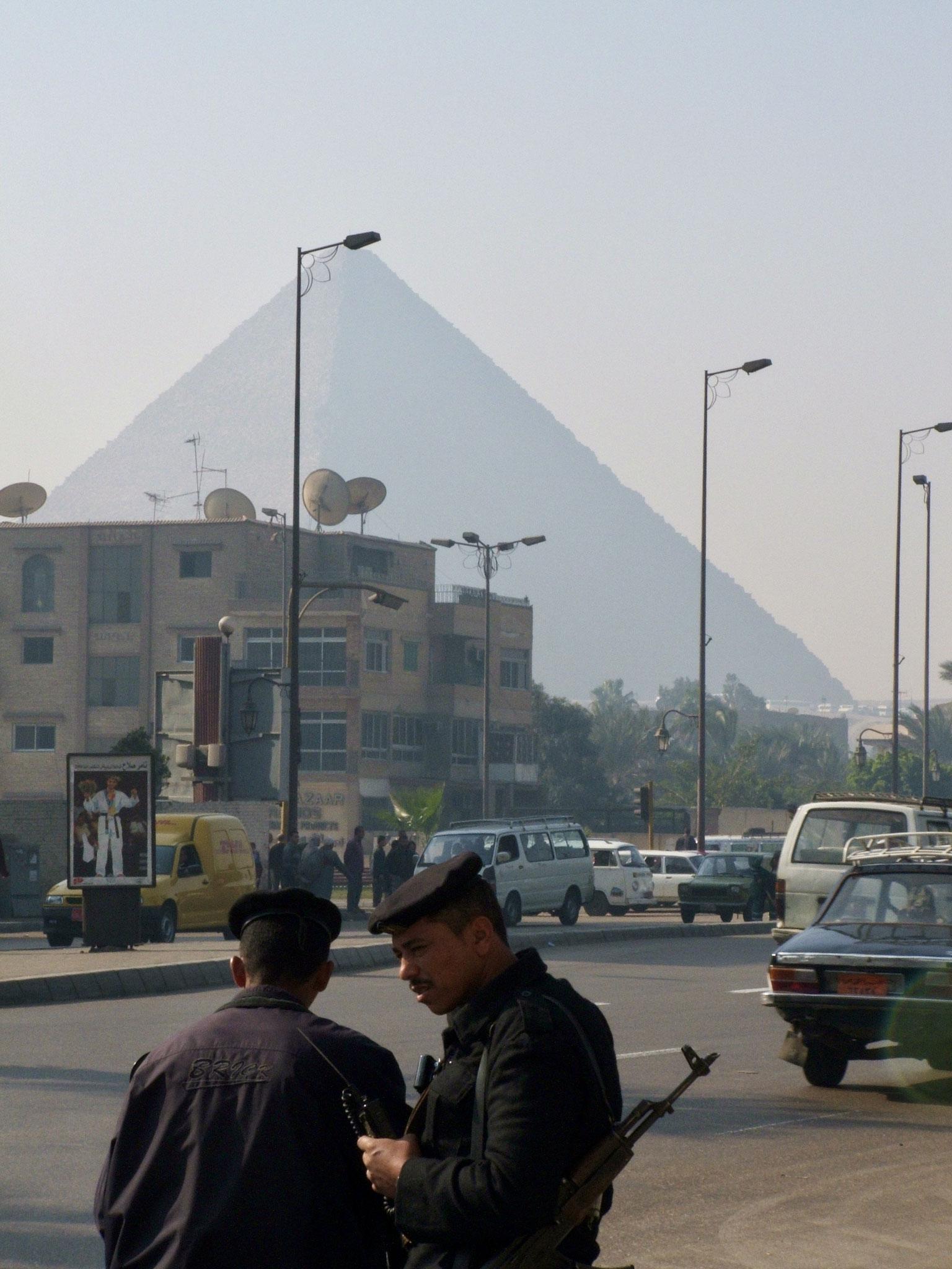 Pyramids and police