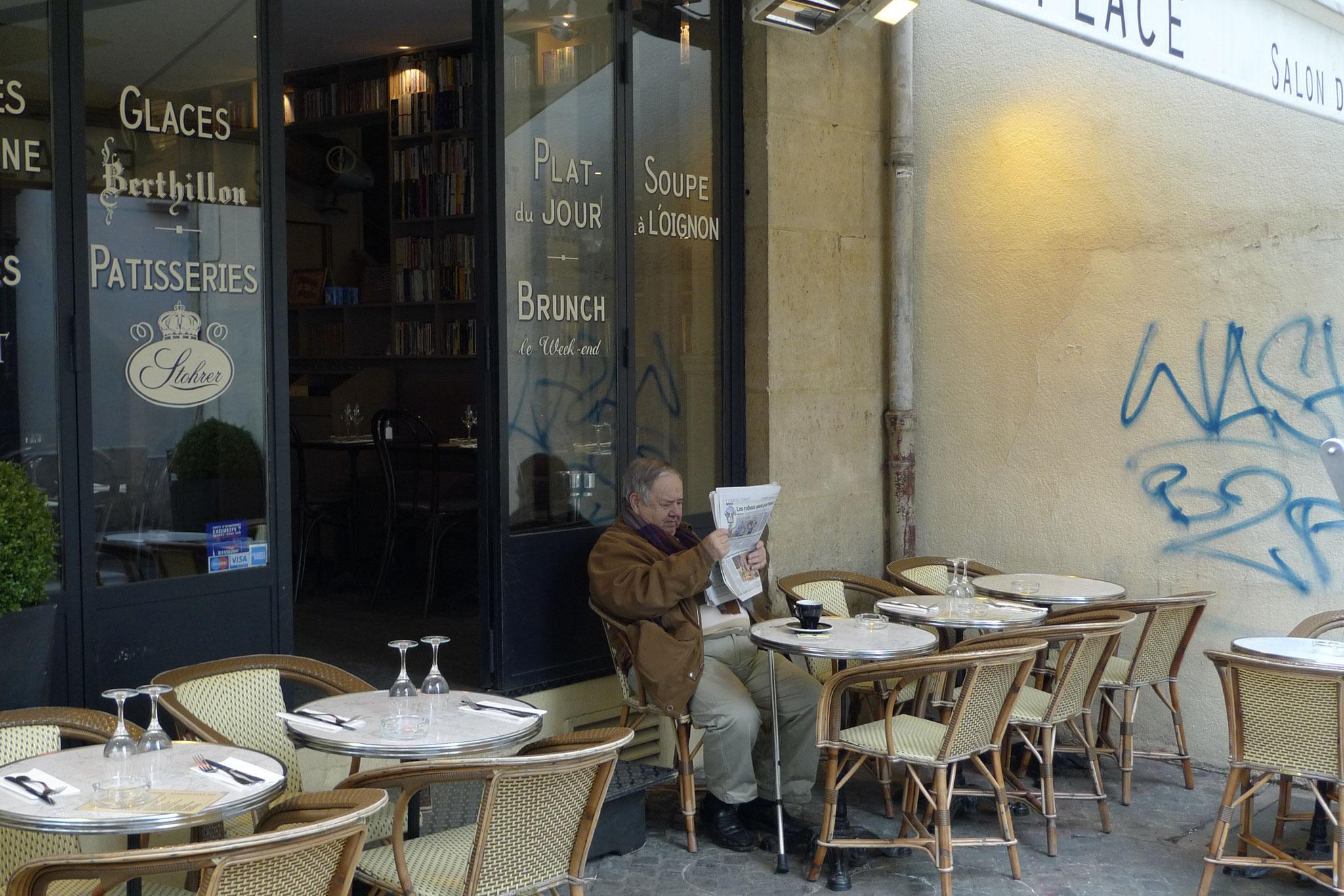Moments de silence, le Marias, Paris
