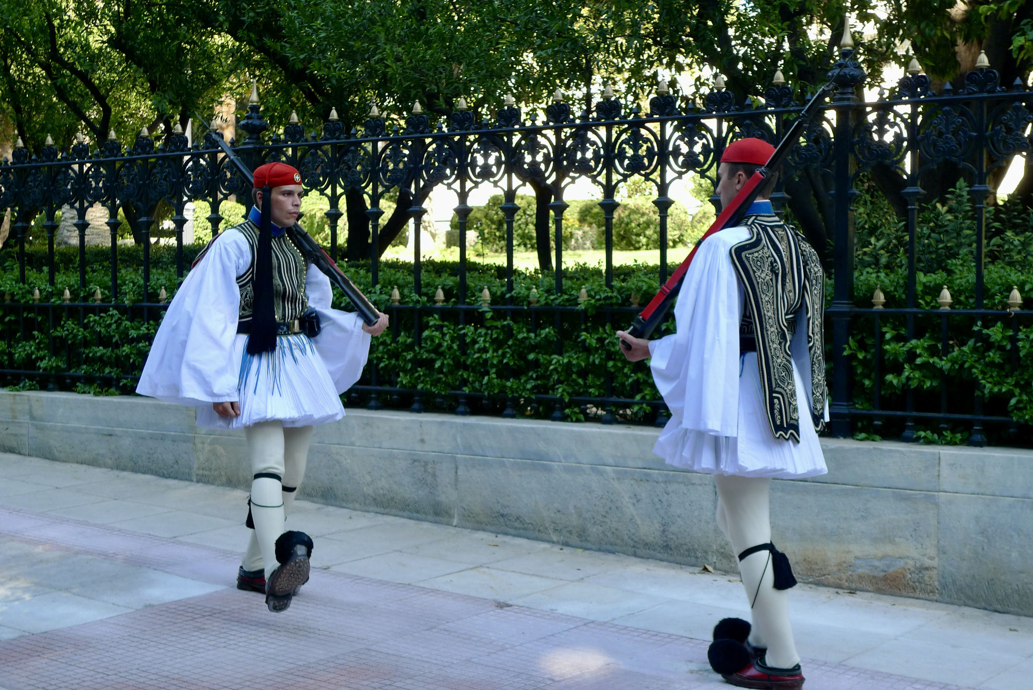Evzones (Presidential Guards) 1