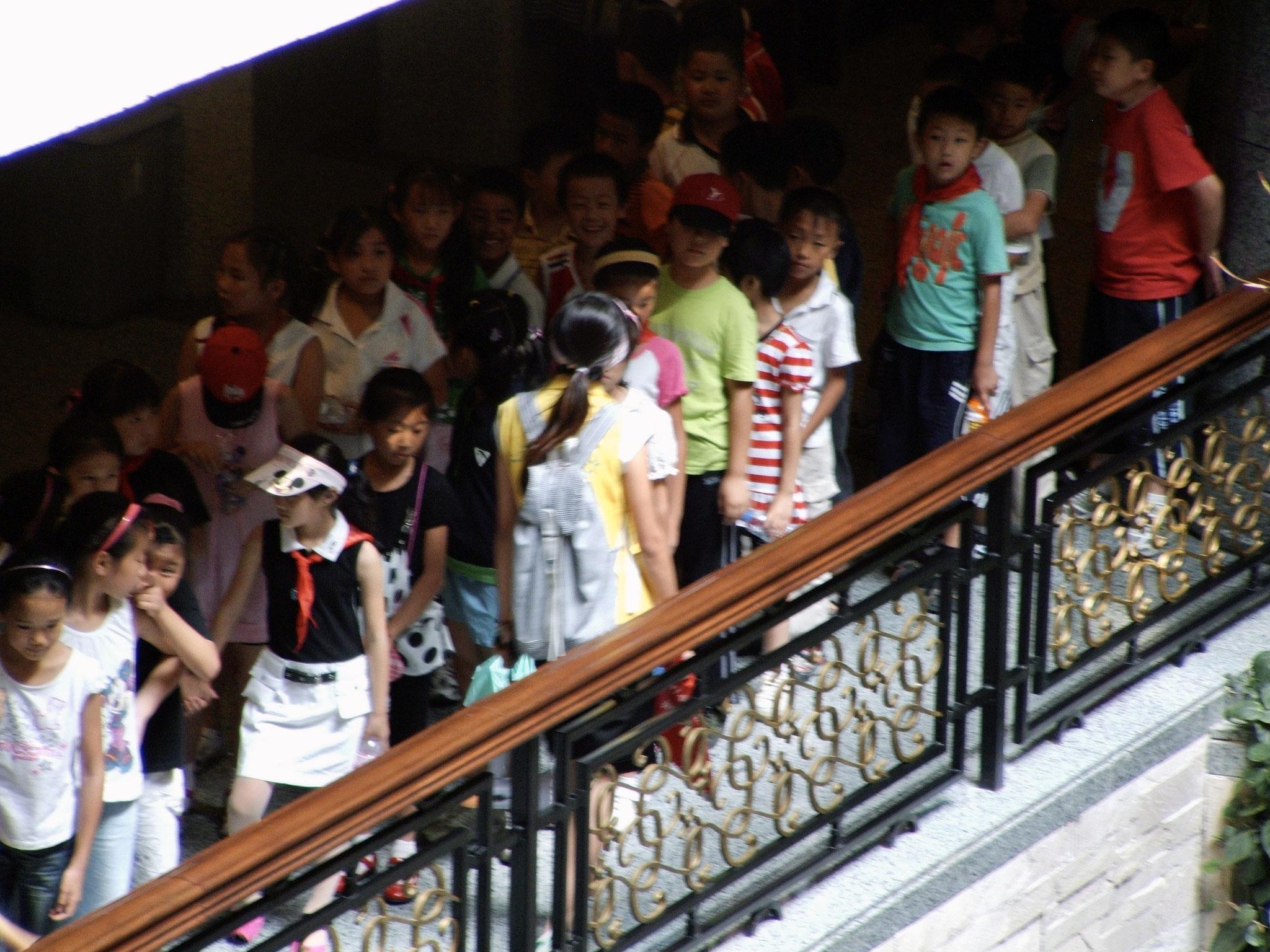 School excursion, Shanghai Museum