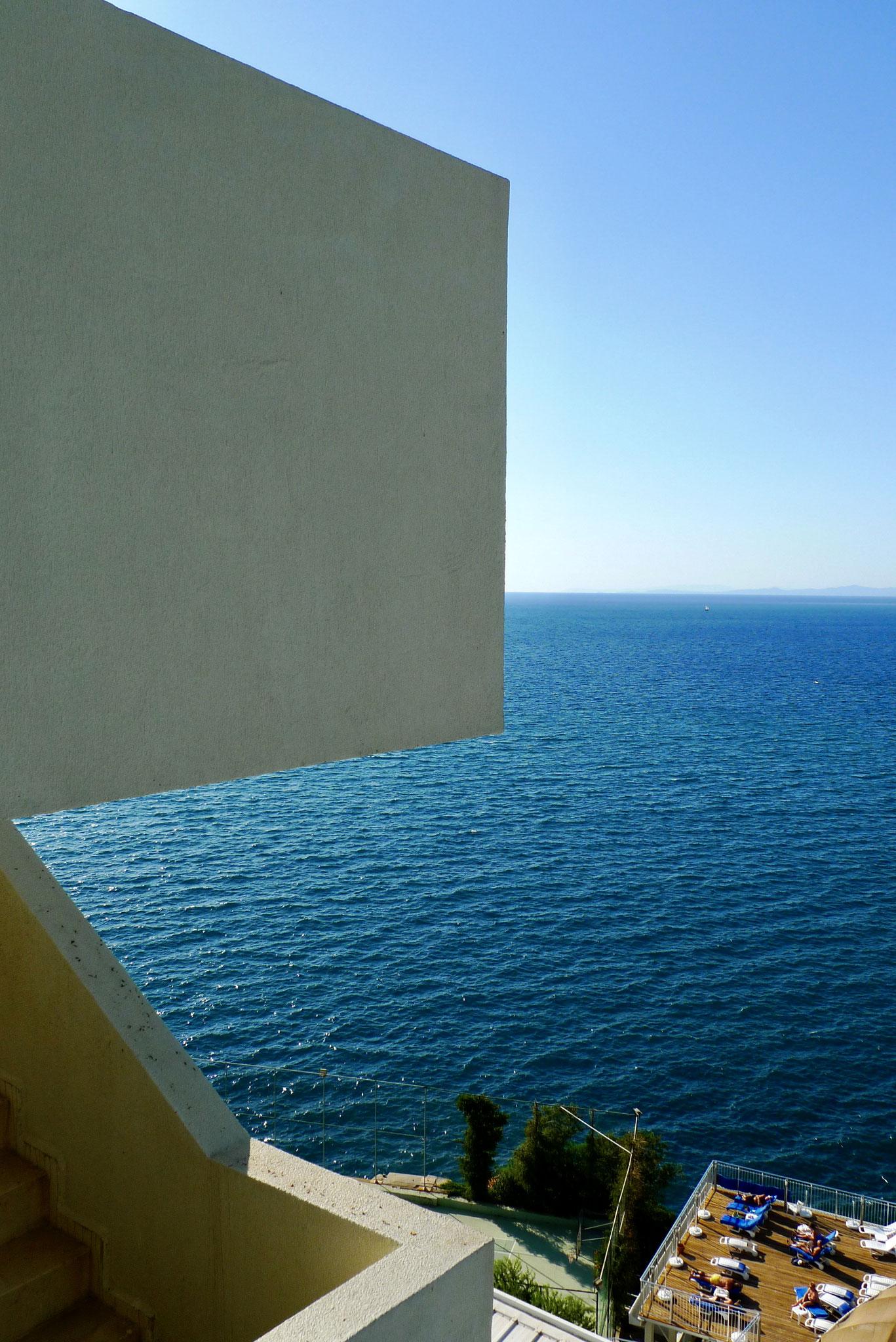 Kuşadasi overlooking the Aegean Sea