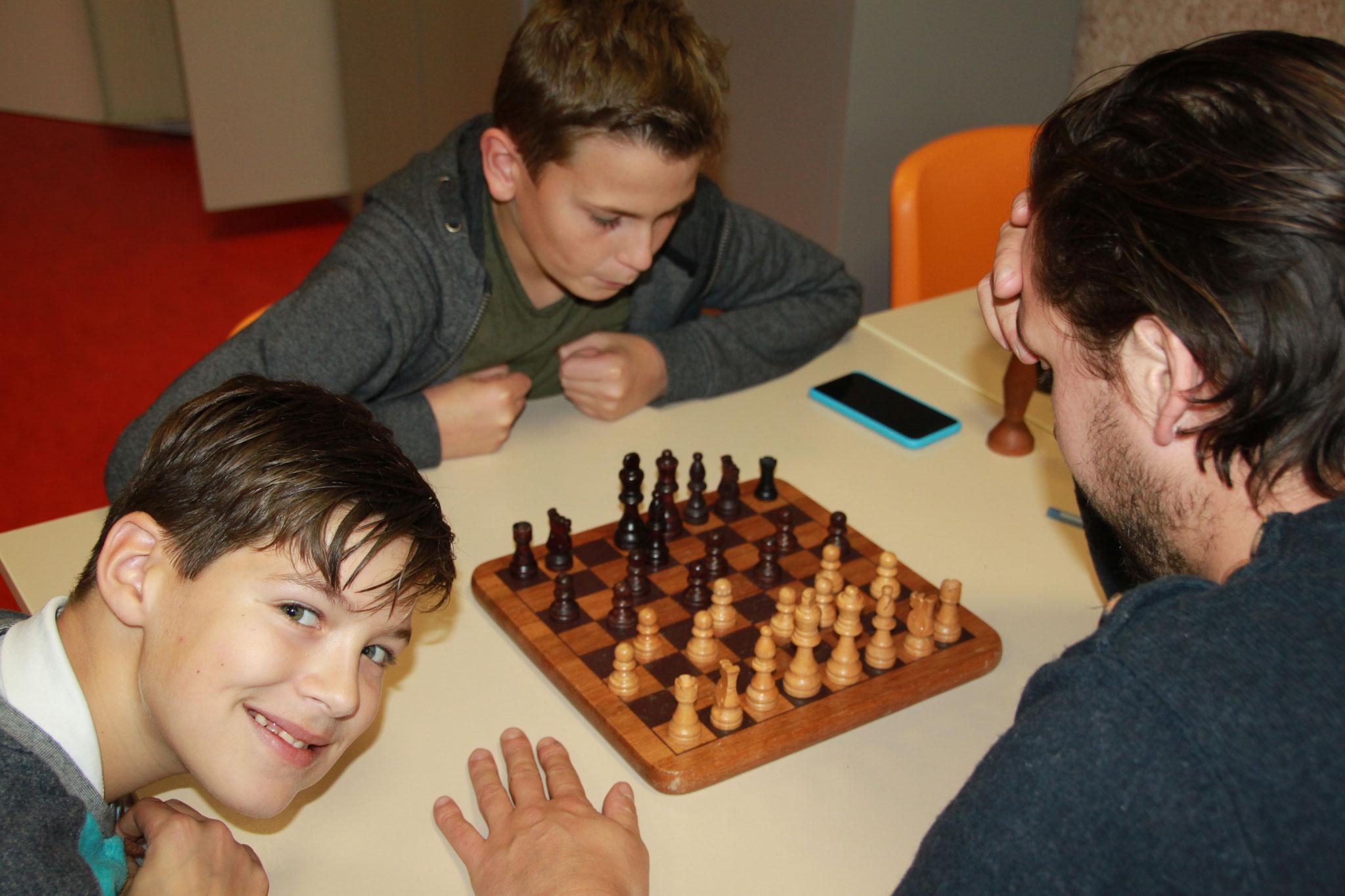 Gezelschapsspel: leren schaken