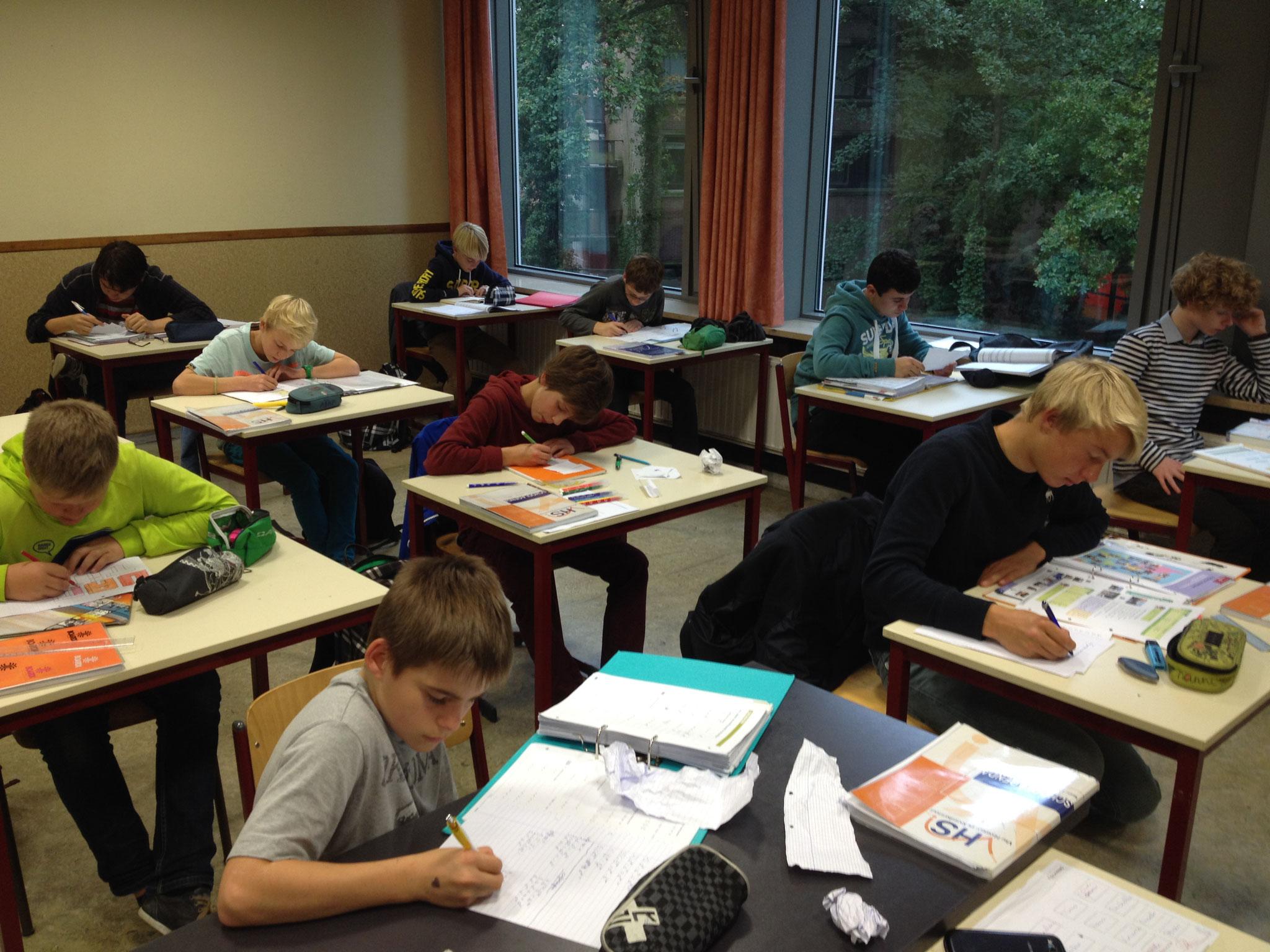 Studie in de studiezaal