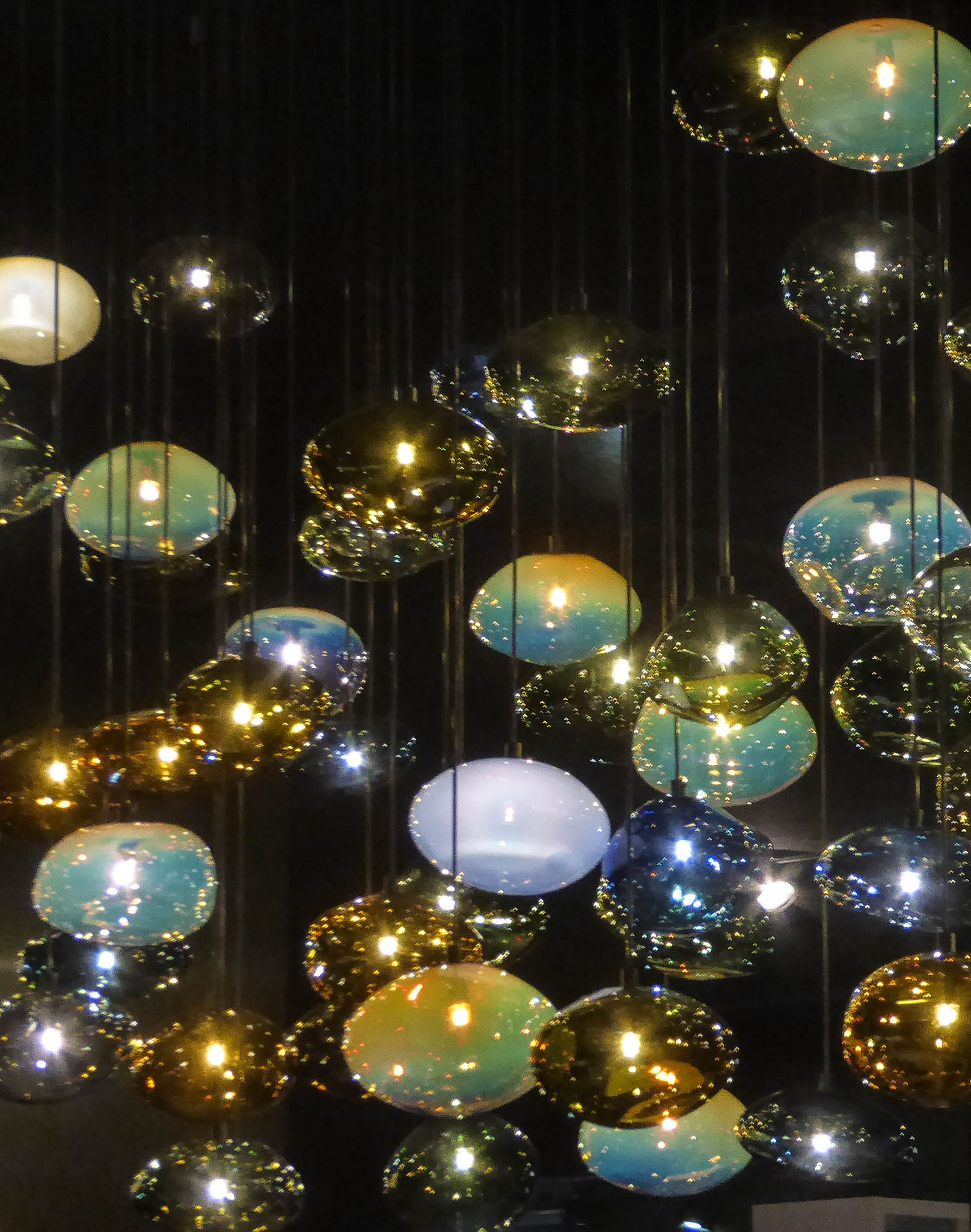 Kunstvolle Lichtobjekte