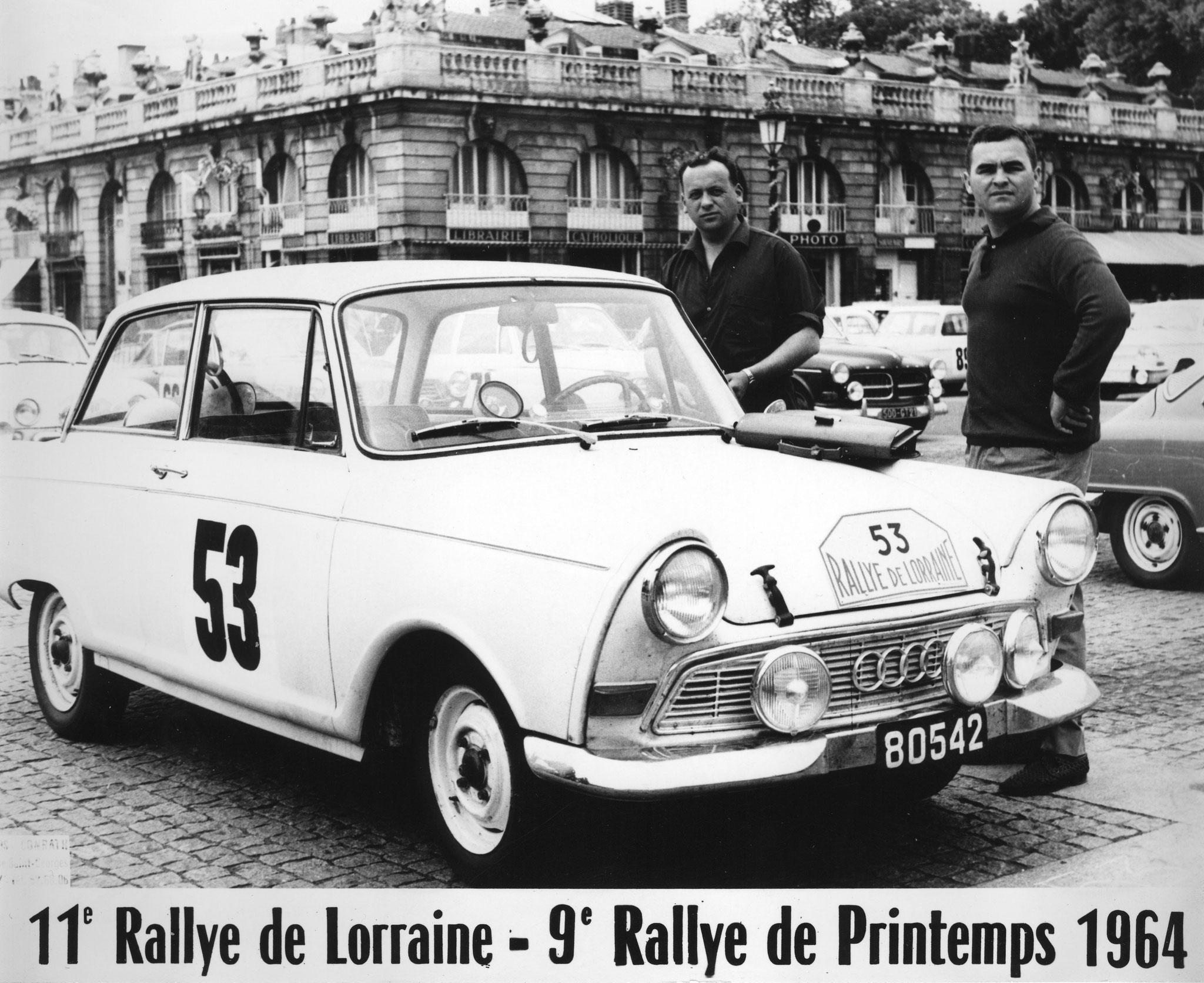 1964 Rallye de Lorraine Koob-Wies