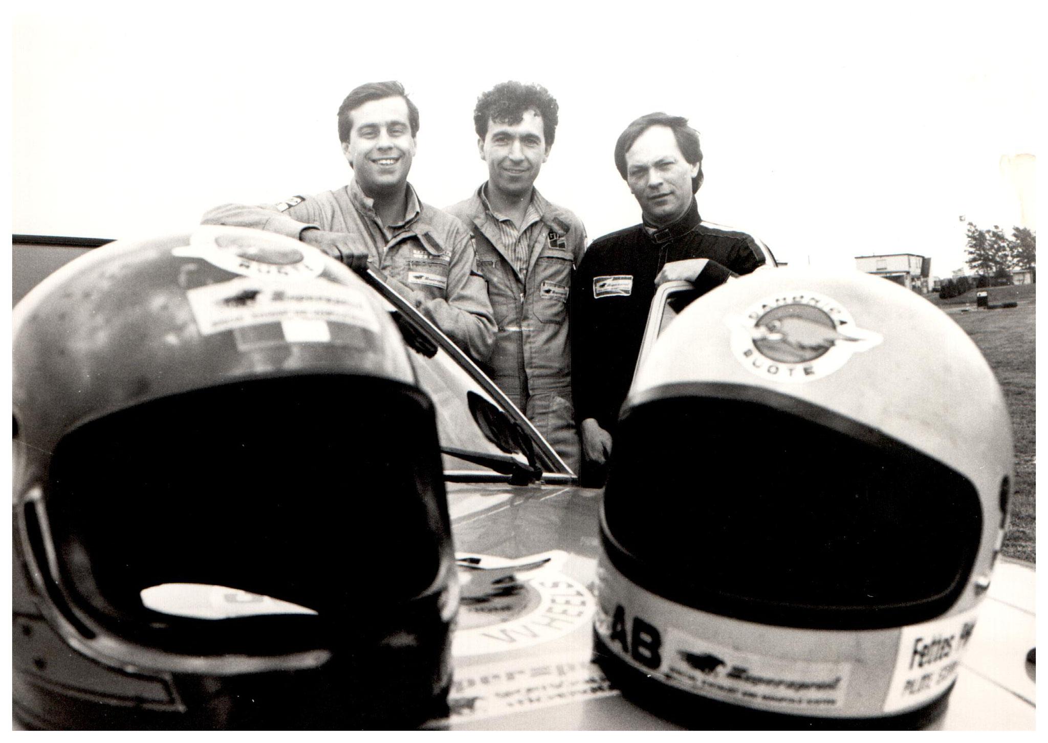 1985  24 Std Nürburgring  Franck- Labalestra - Fettes