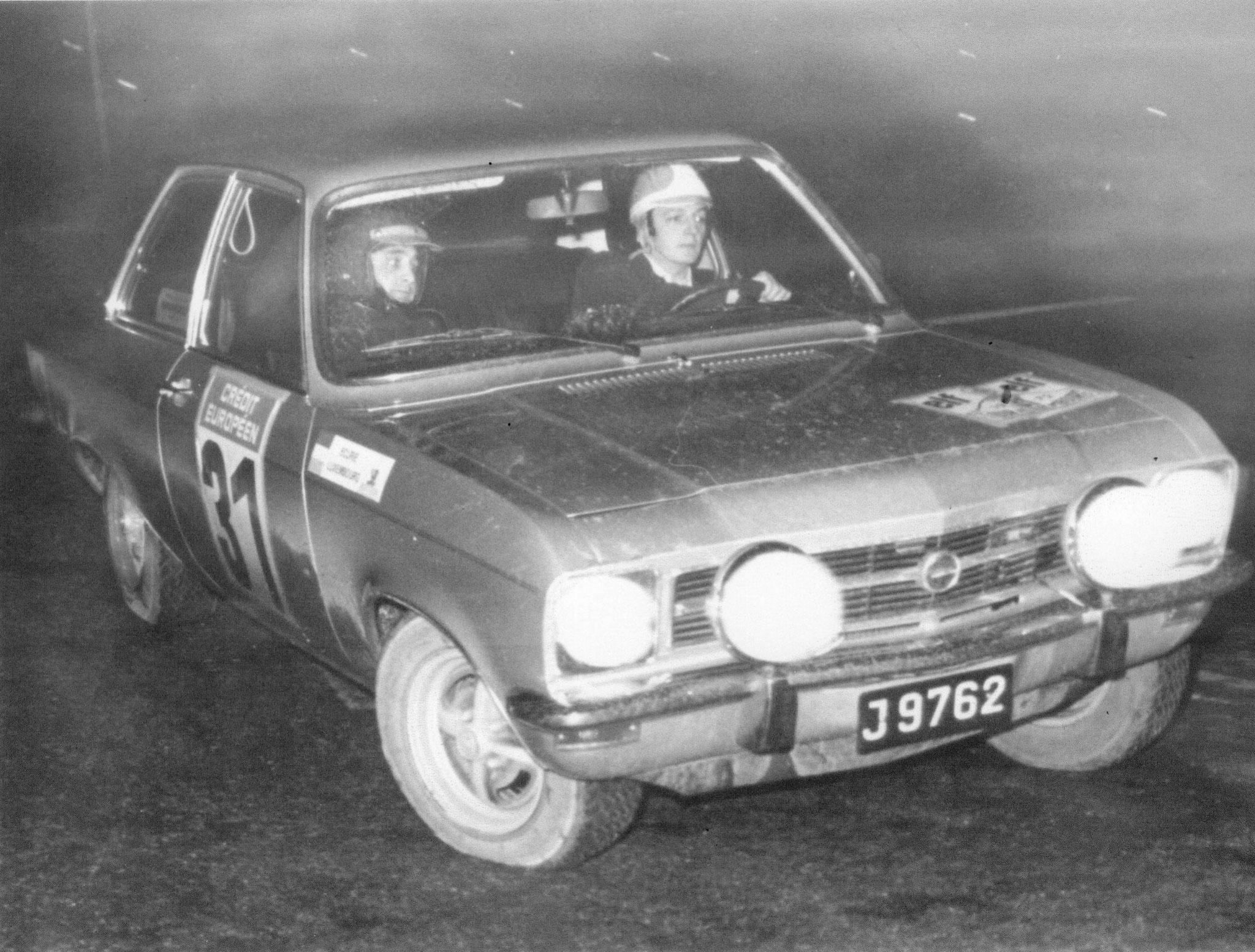 1972 Rallye du Touquet 9ième au Général / 1ier du Groupe