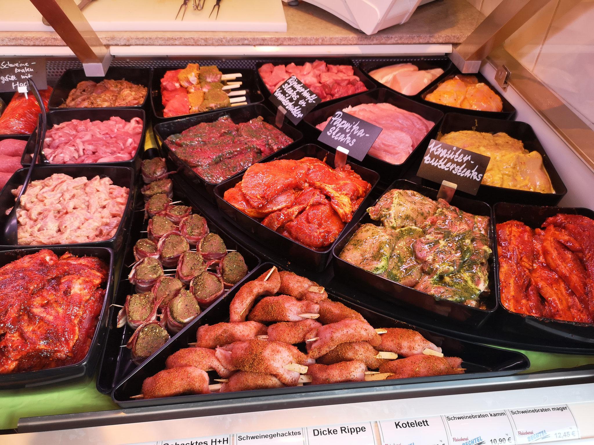 Grillfleisch - Fleischerei Bechtel - BBQ Grillfest