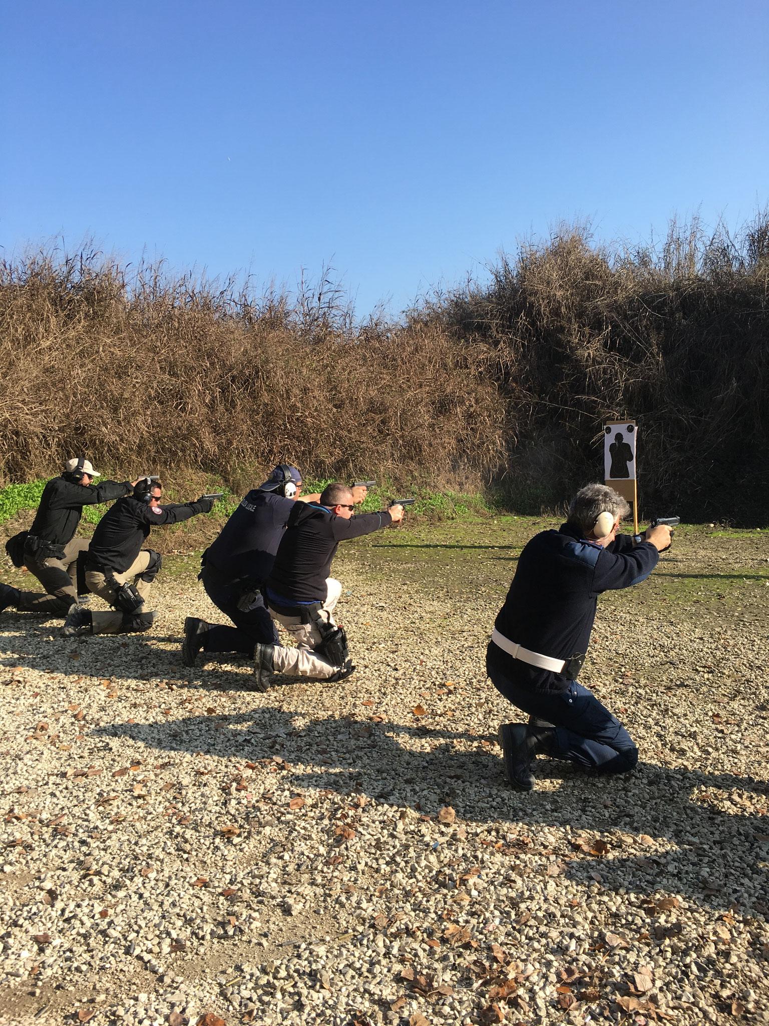 Beretta corso Operativo Marsala Massimiliano poligono Agne (PD)