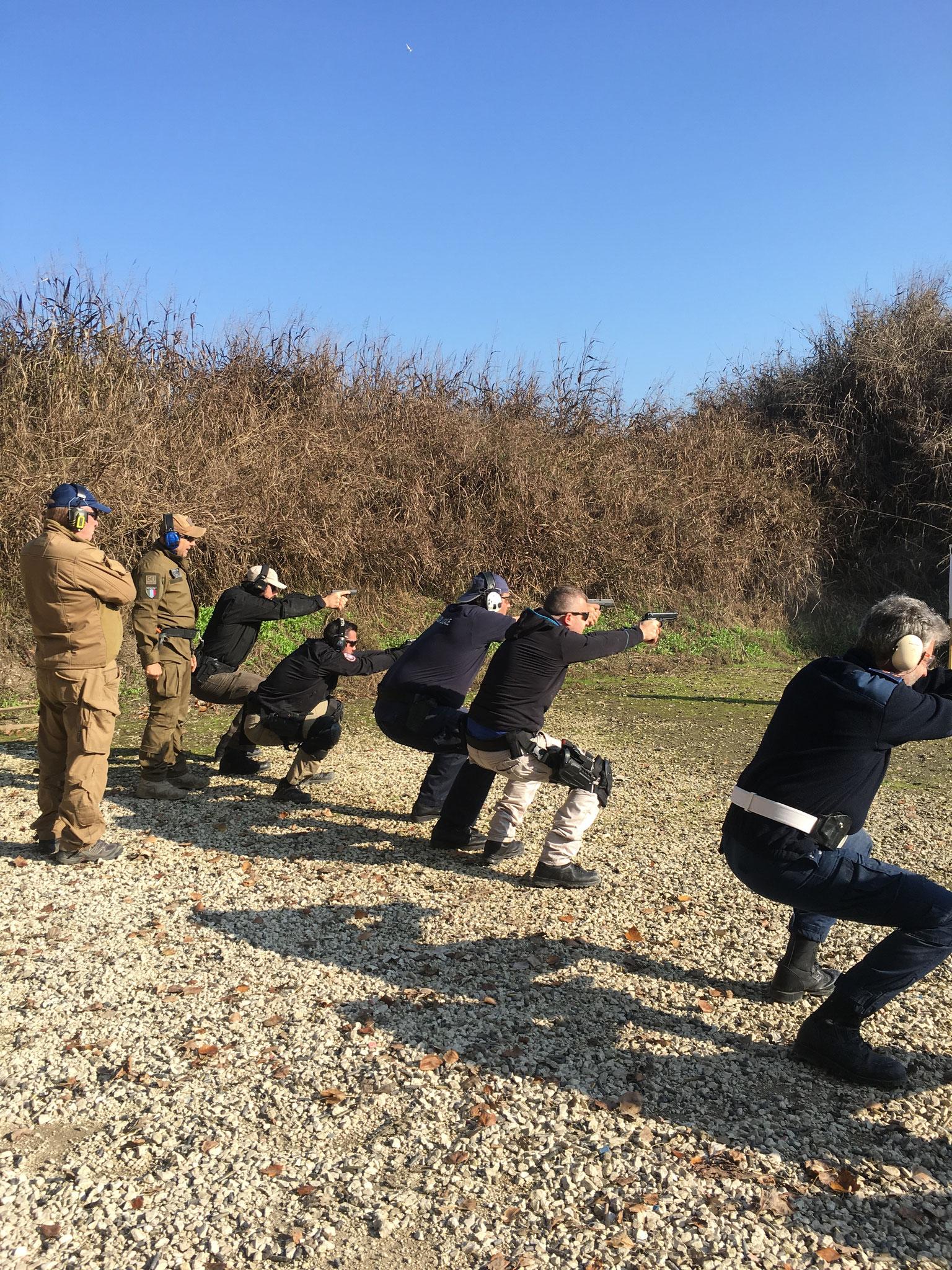 Beretta corso Operativo Marsala Massimiliano poligono di tiro
