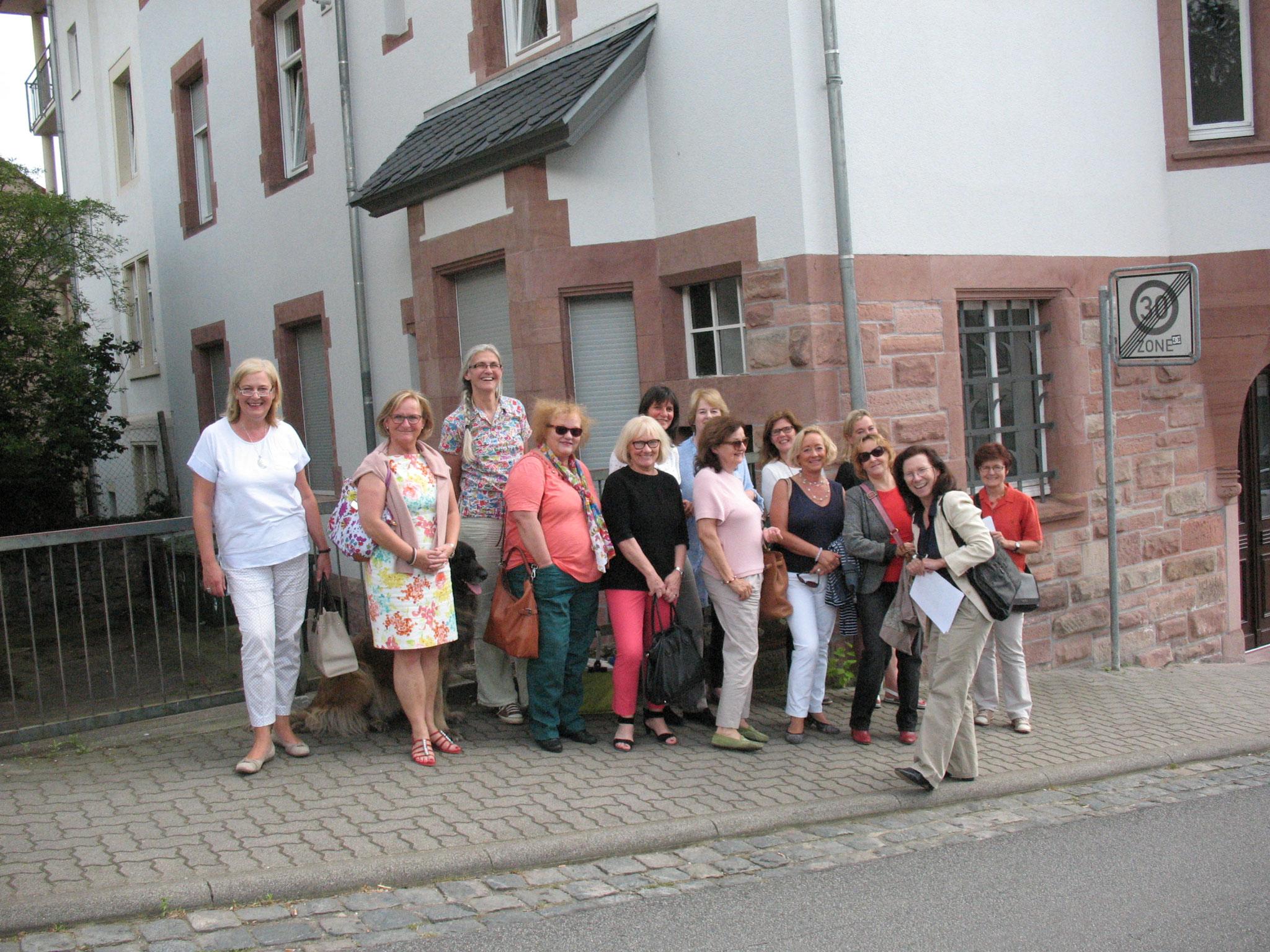 Besuch der Metzendorfvillen in Bensheim 2017