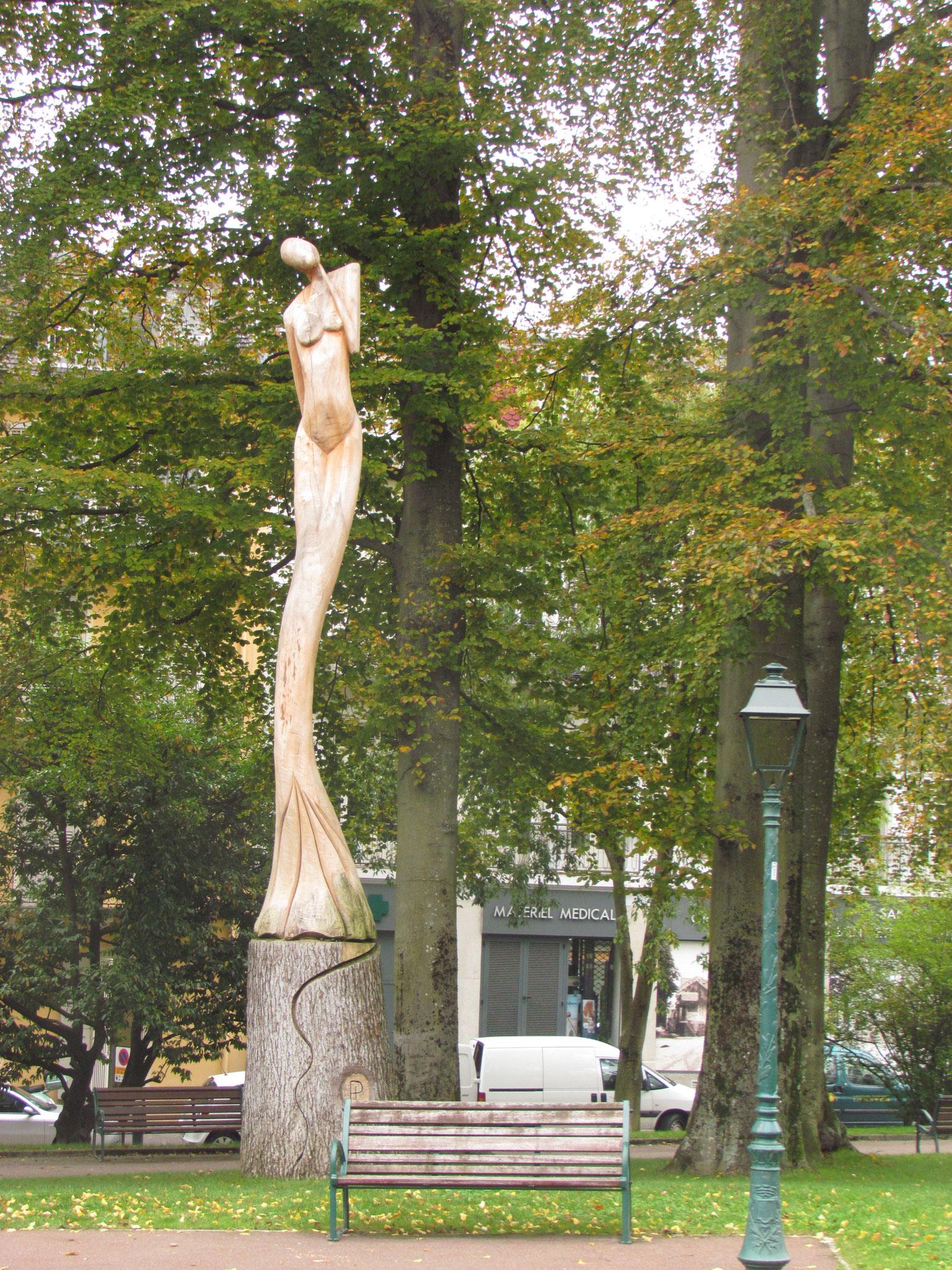 Novembre 2014. Découverte de la ville de Aix-les-Bains