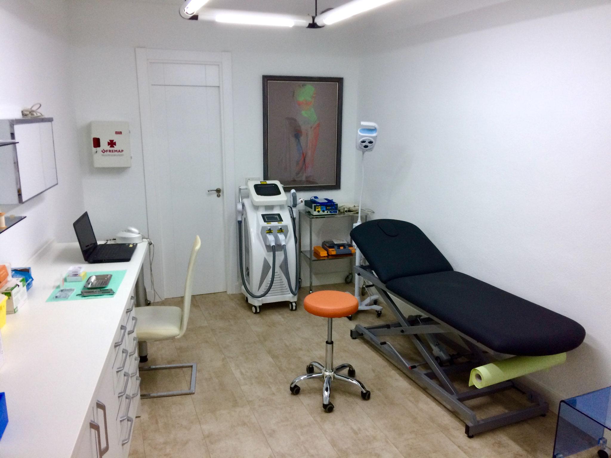 Sala de Reconocimiento y Cirugía