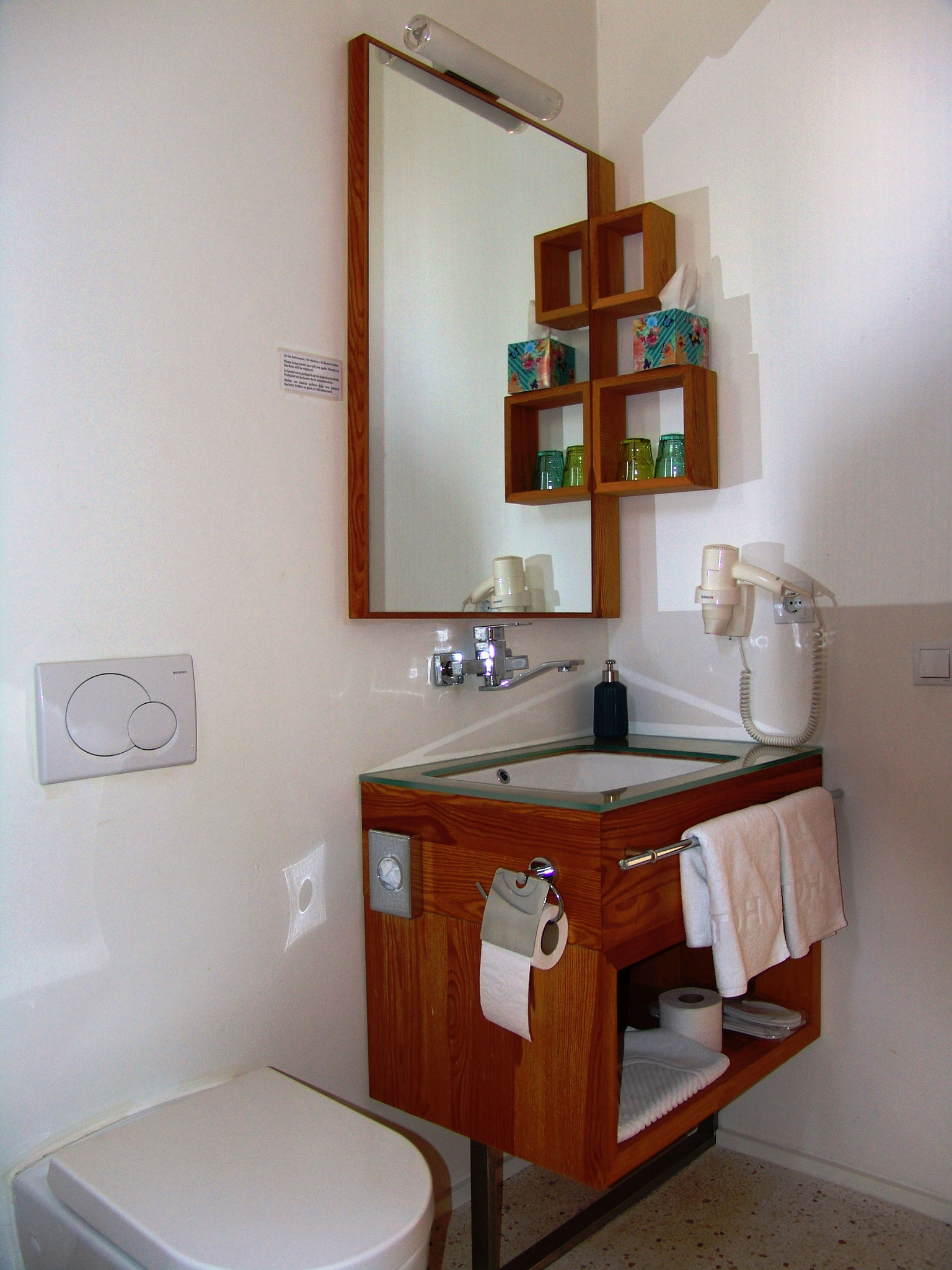 Bathroom of the family room