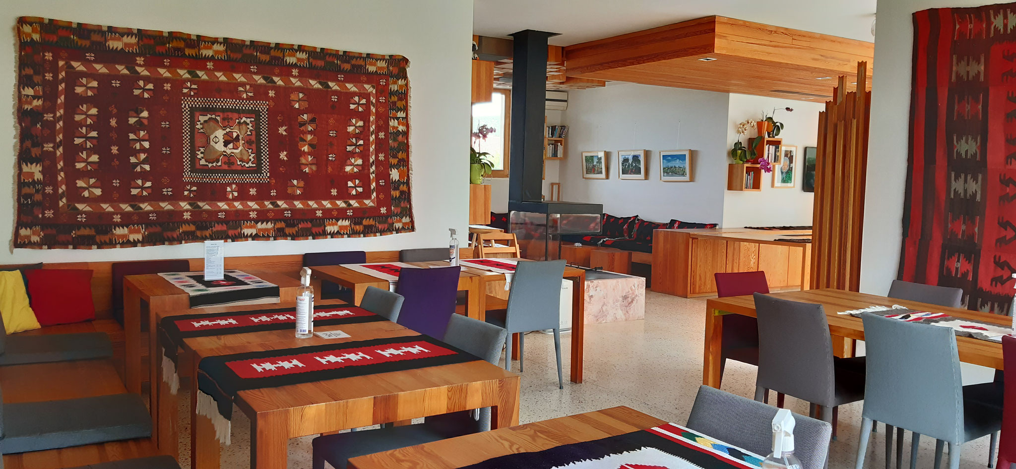 Our restaurant and oda