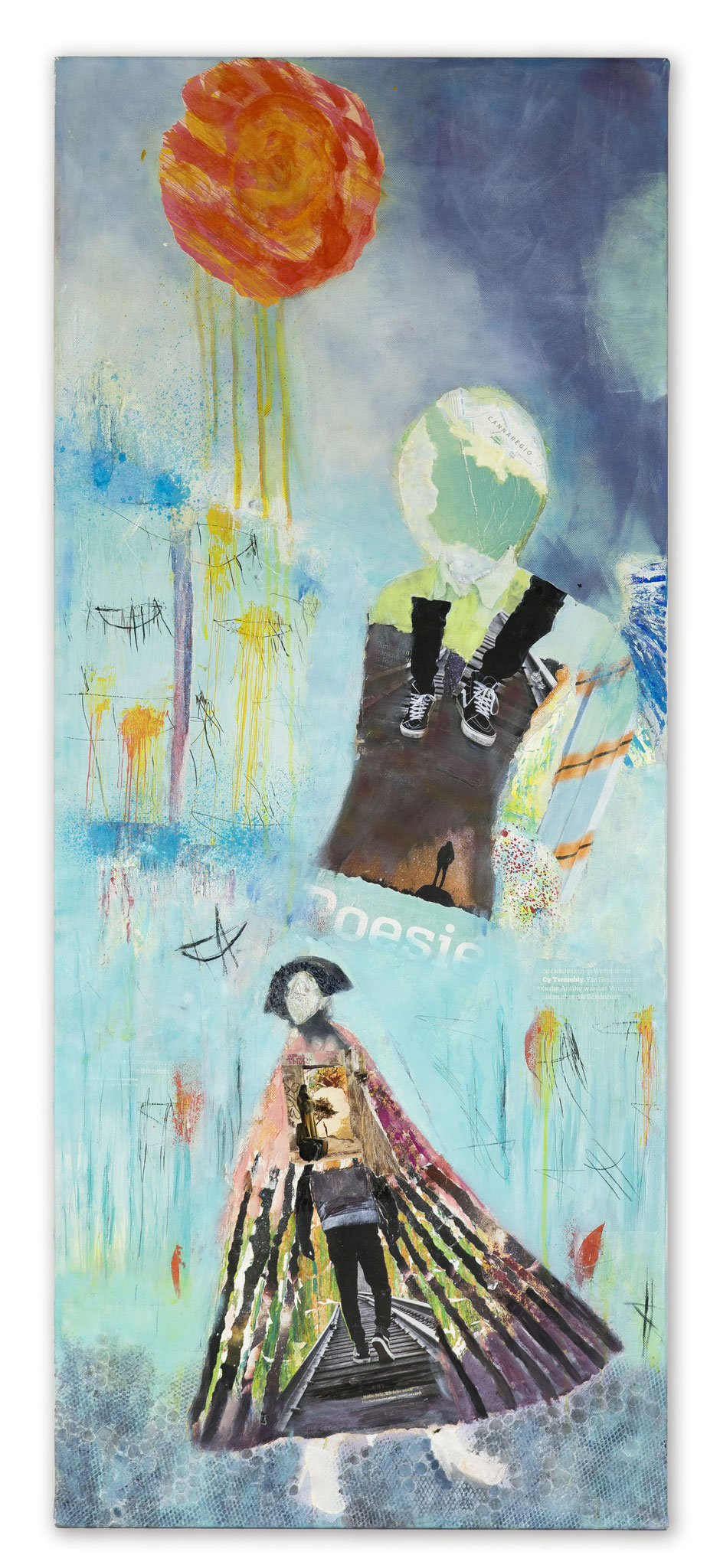 A WALK OF FAME Which traces, which milestones do you want to leave, before you leave? 120 cm x 50 cm