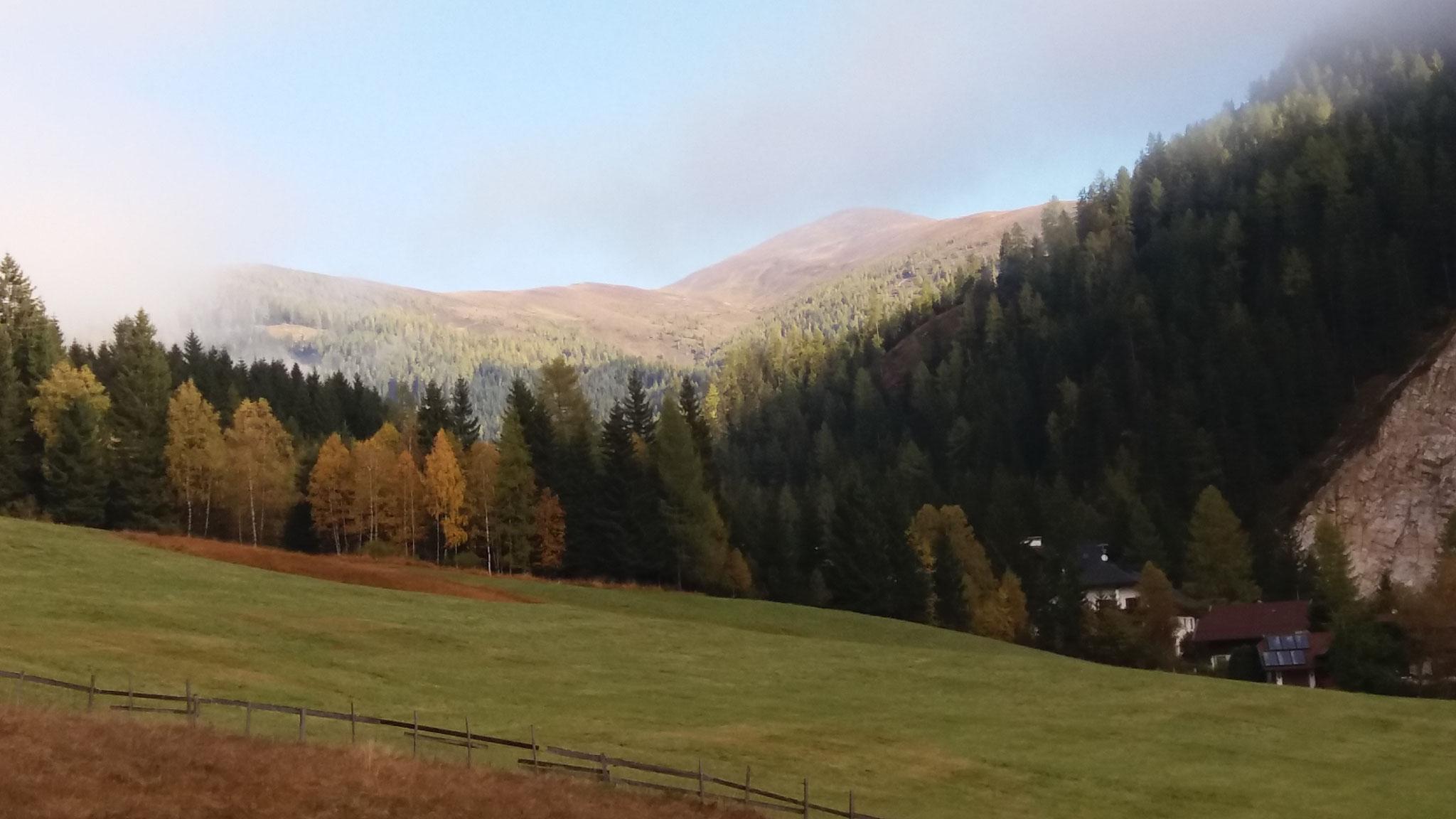 Herbsttag in Bad Kleinkirchheim - Staudach