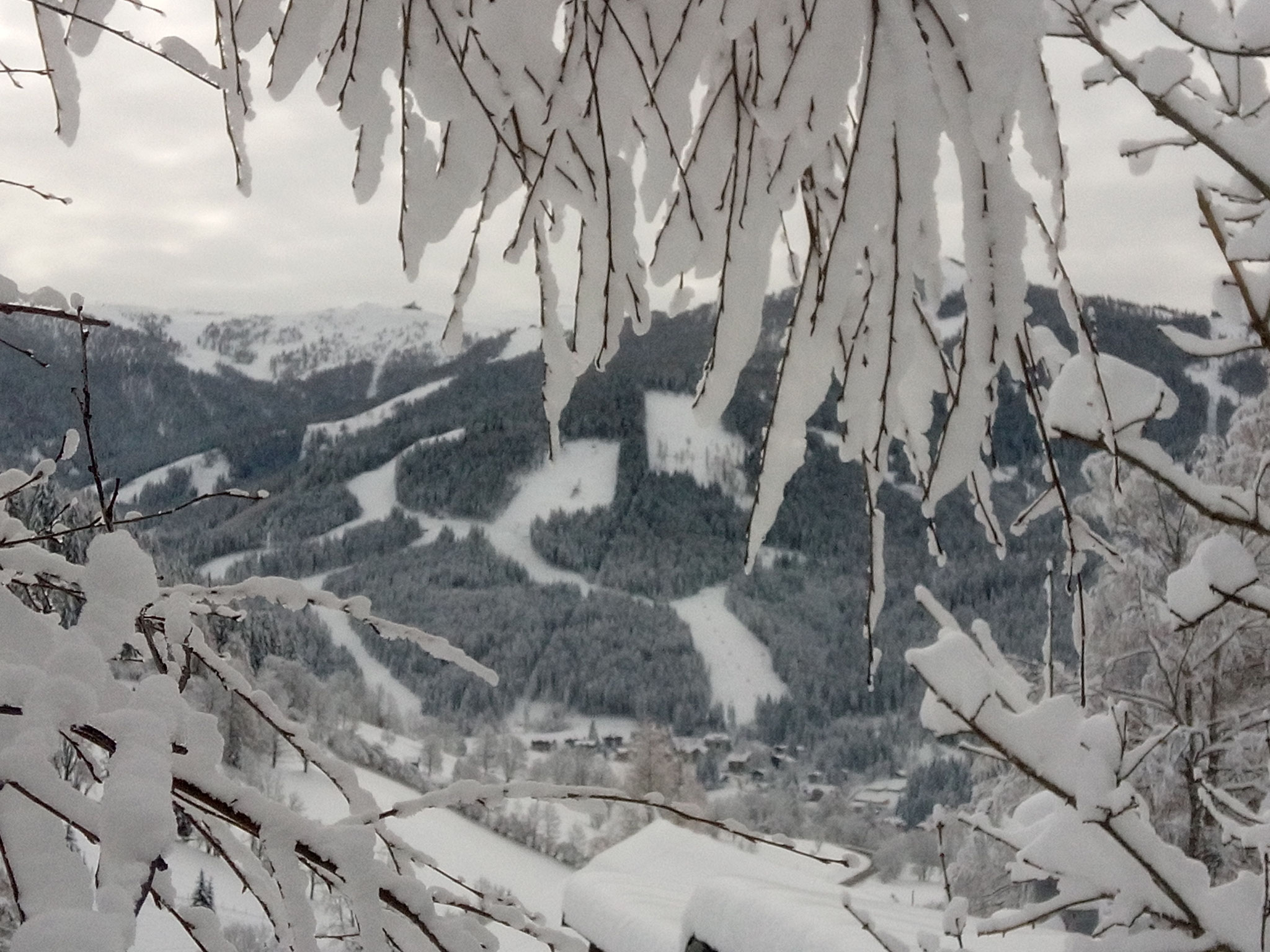 Winterzauber im Skigebiet Bad Kleinkirchheim / St. Oswald