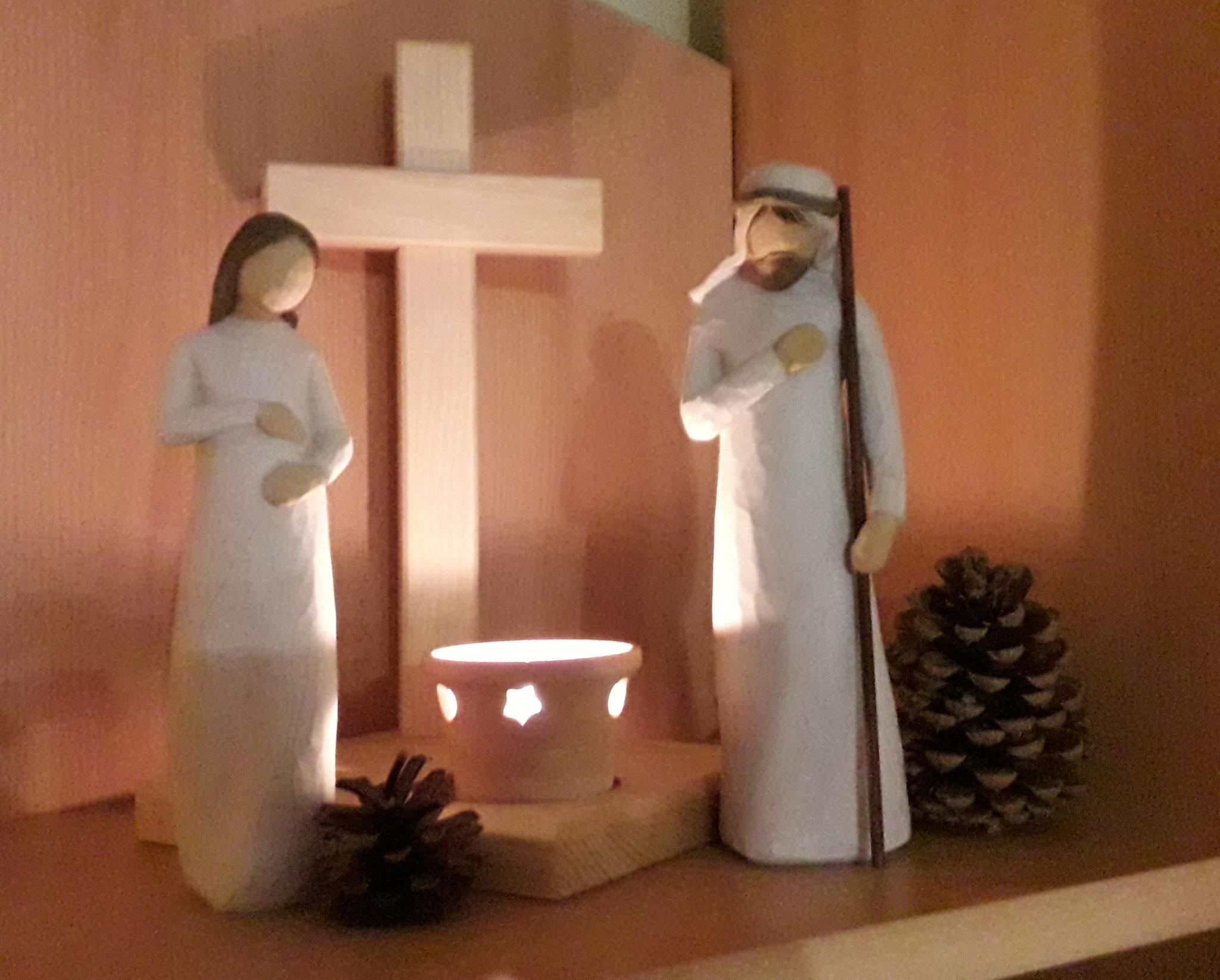 Am 10. Dezember haben Maria und Josef die Nacht in Daßlitz bei Familie Hagenau verbracht.