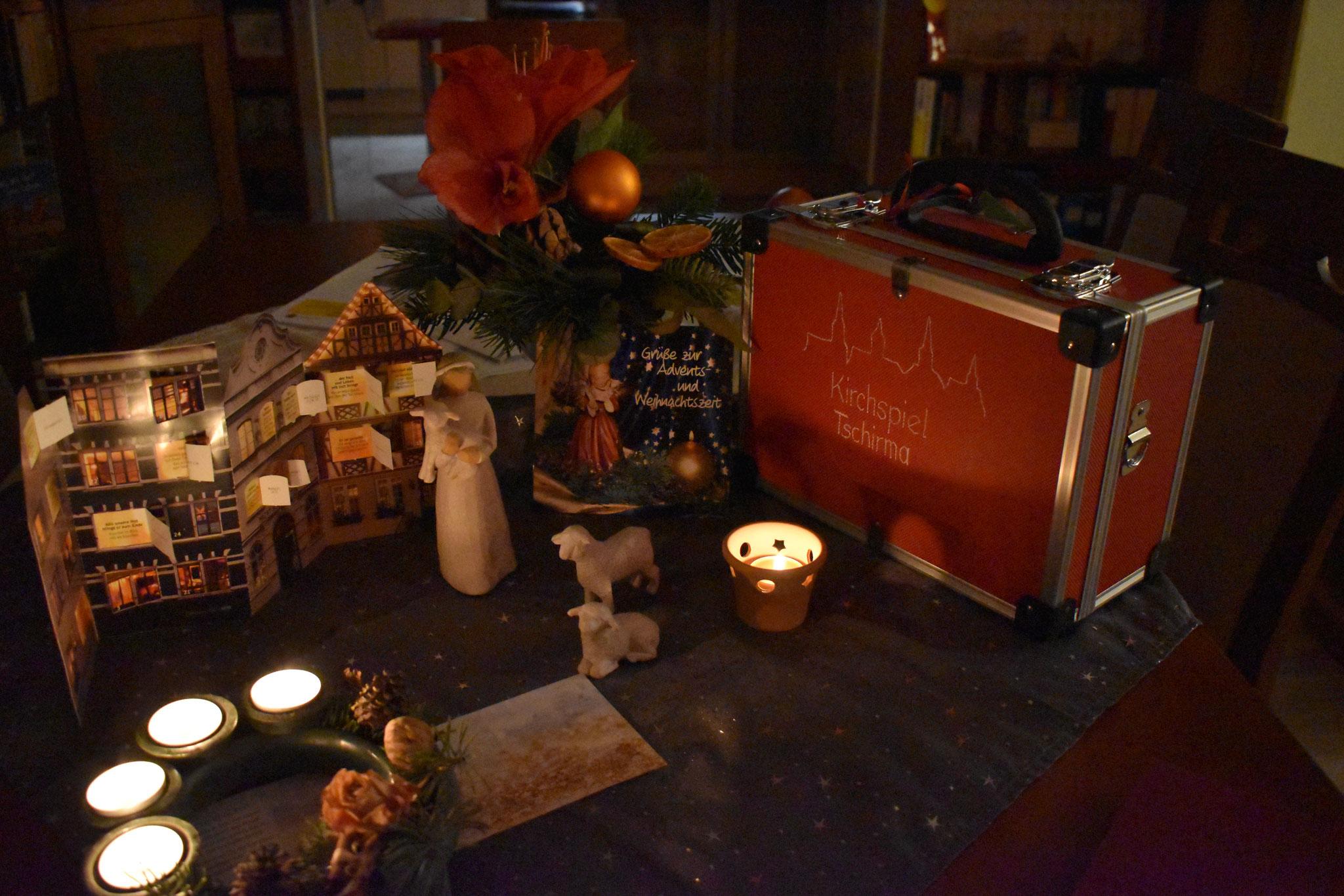 eine Nachricht der Hirtin, vom 4. Advent aus ihrer Herberge in Wildetaube, Schwanweg