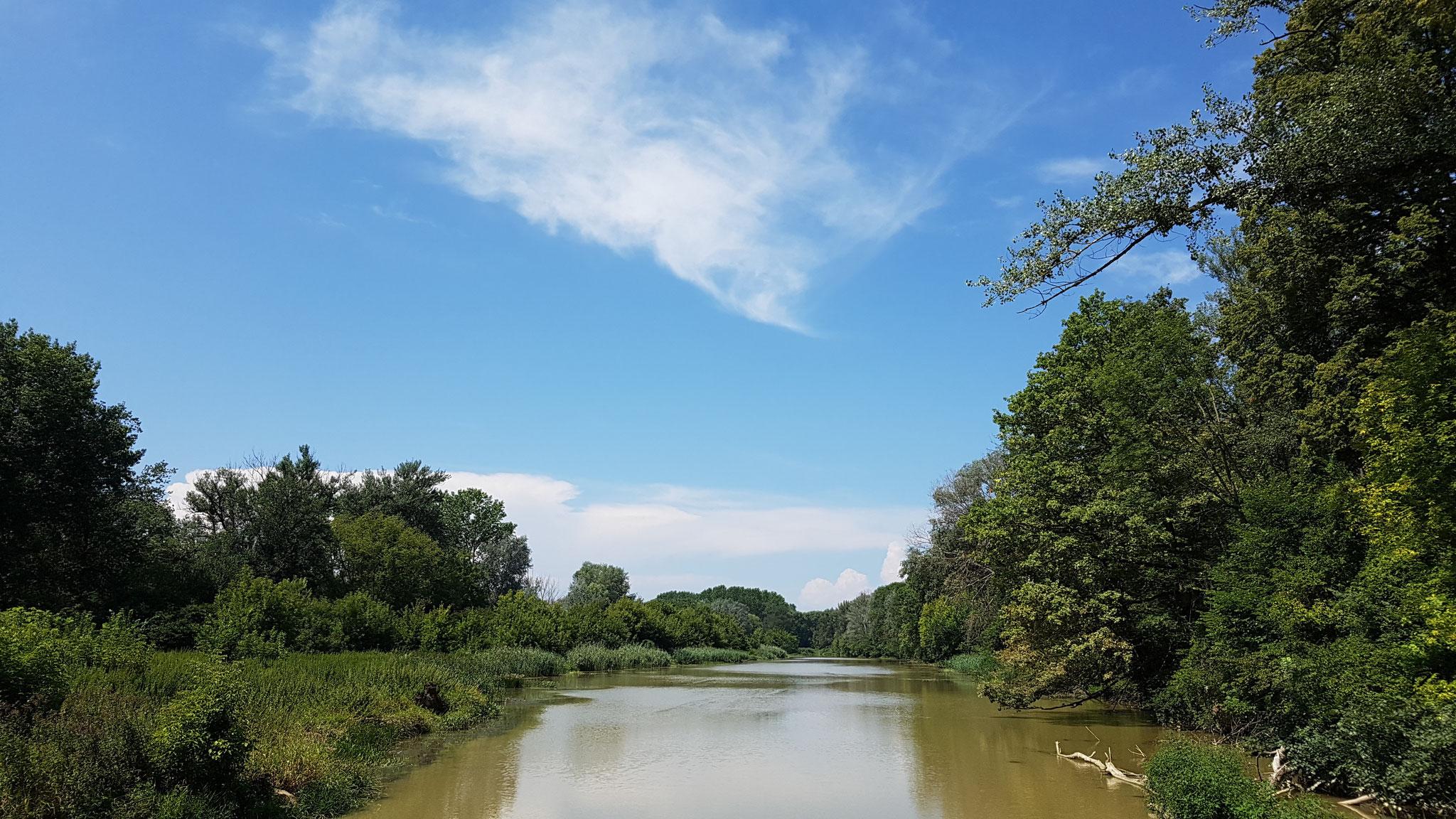 Wunderschöne stille, geruhsame Natur