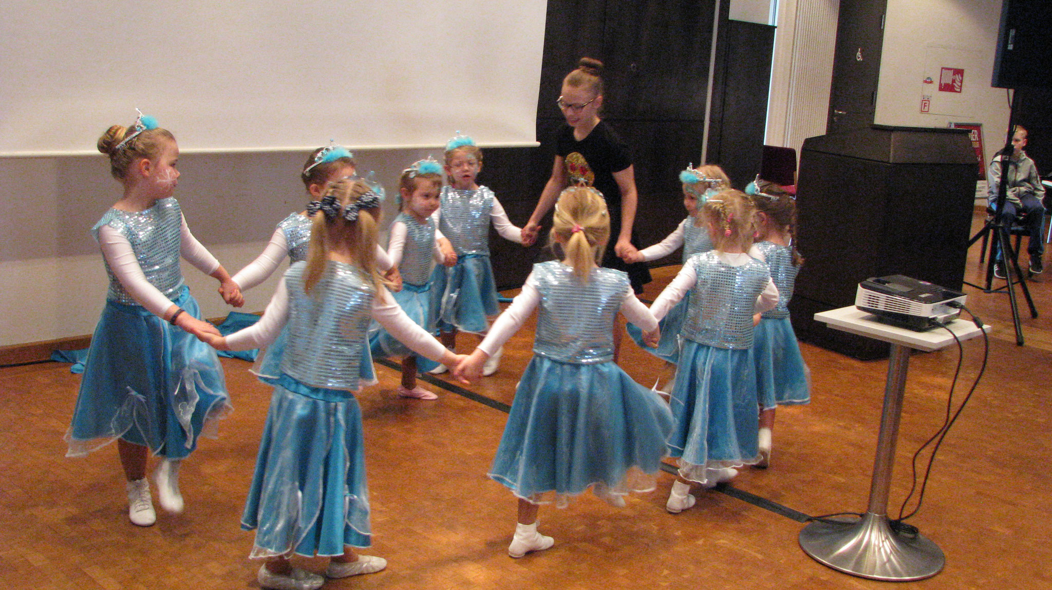 Kindertanzgarde aus Rheine