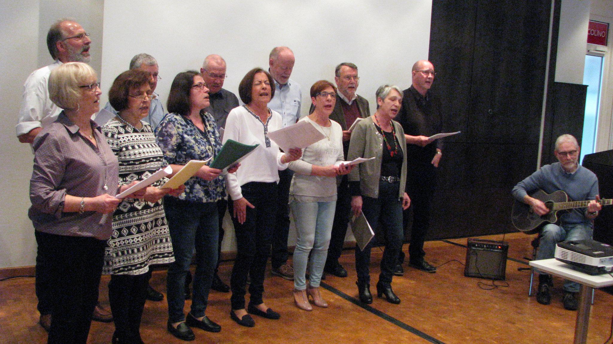 Der deutsch–portugiesische Chor Alegria aus Rheine