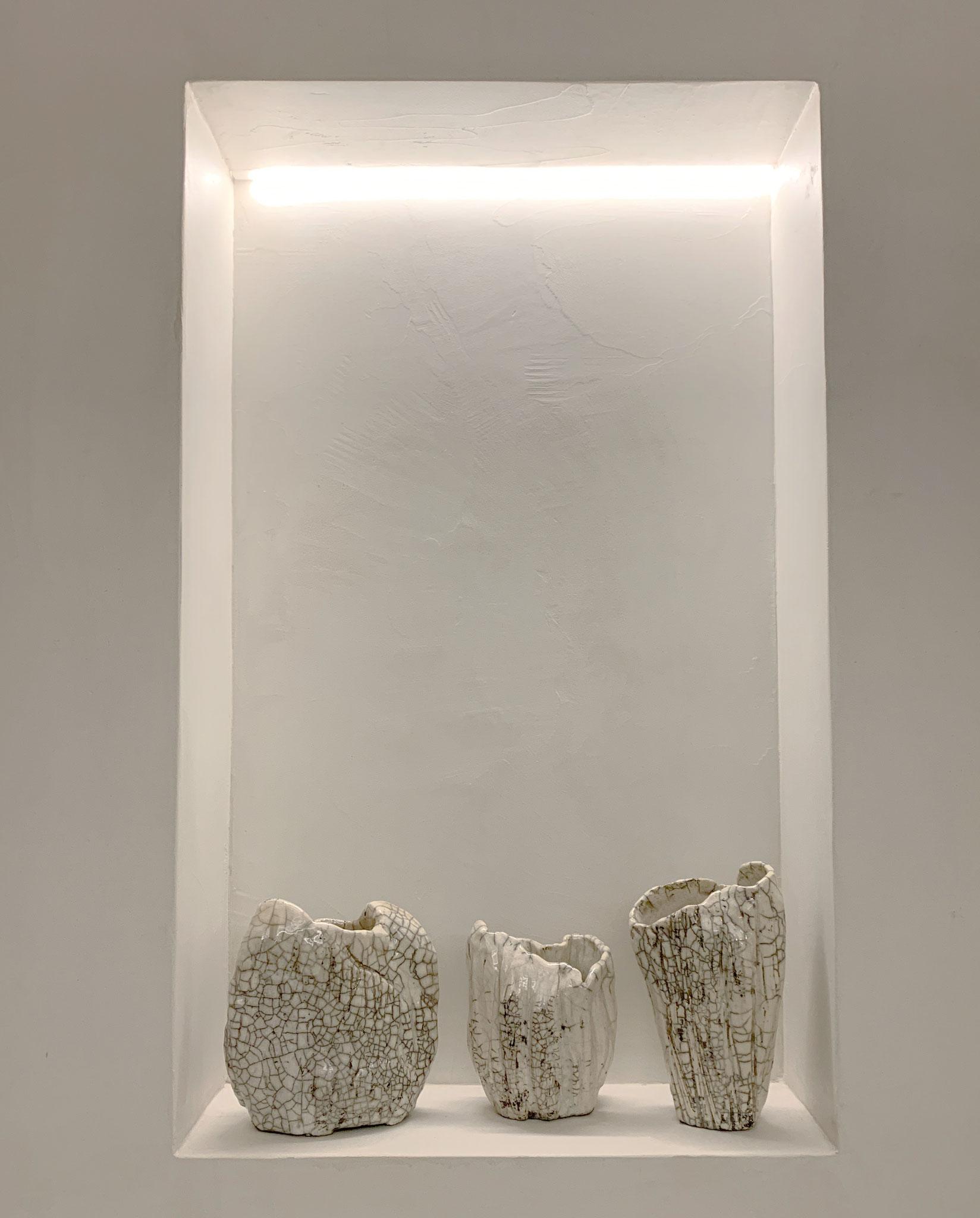 RAKU - Vases (Series ORGANIC)
