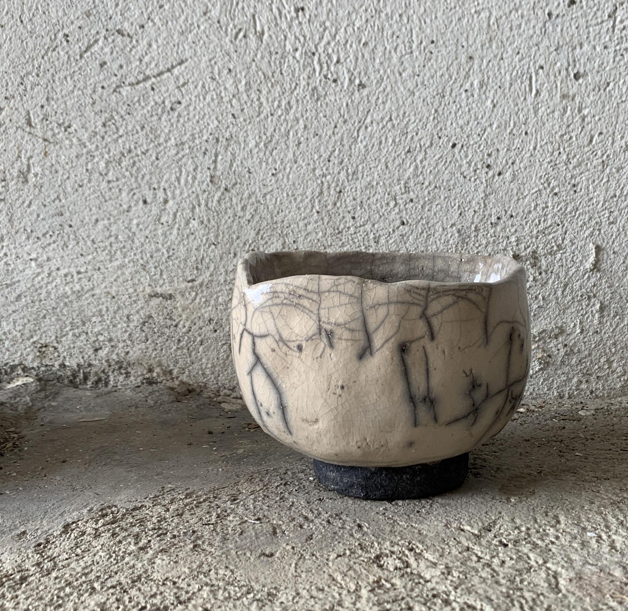 RAKU - Tea Bowl
