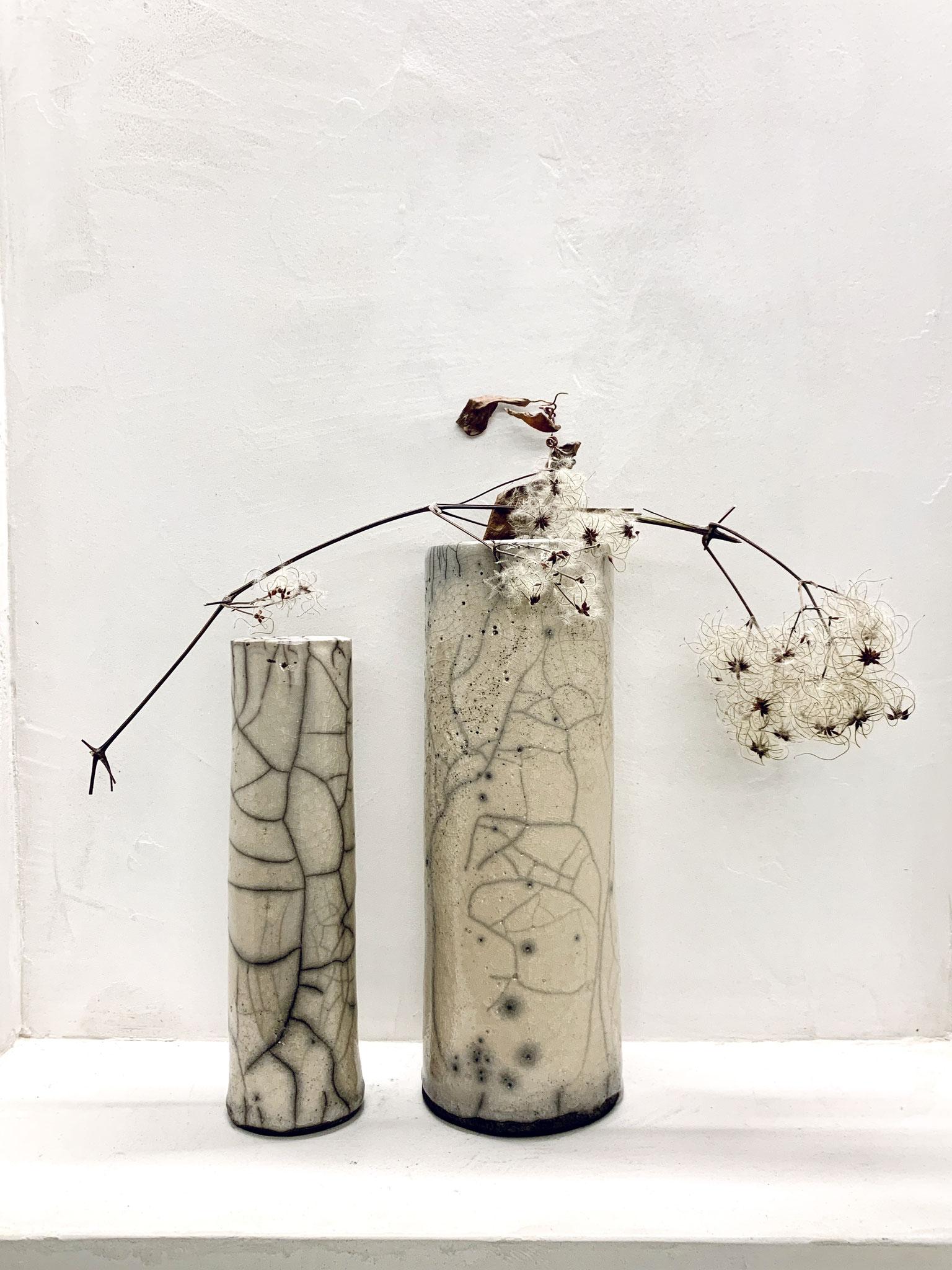 RAKU - Vase (Series PURE)