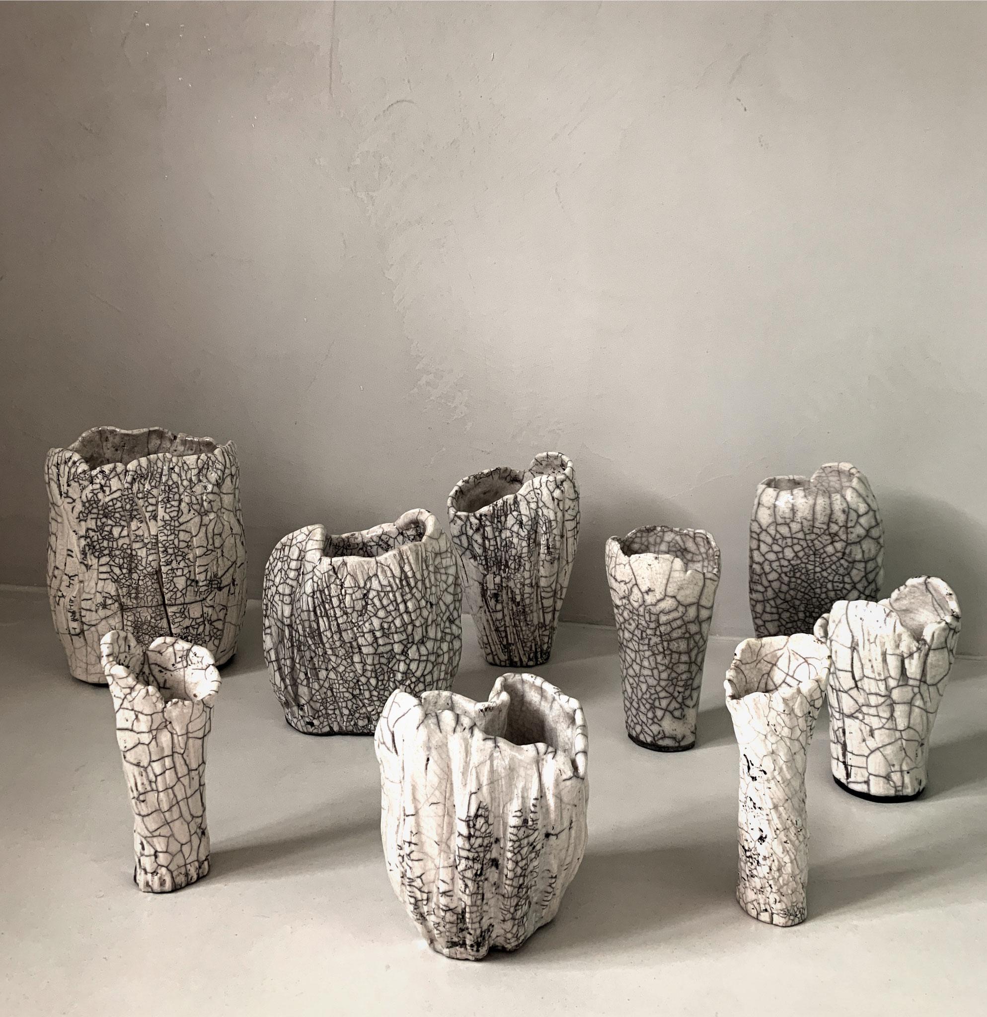 RAKU - Vase Collection