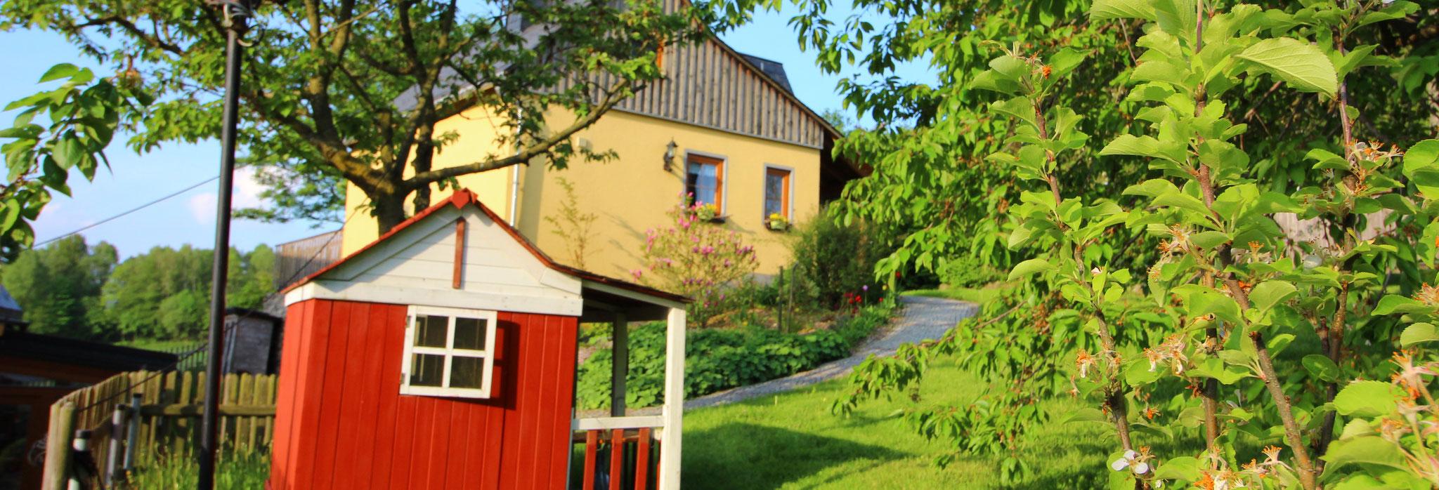 Unser Ferienhaus Hutheisl
