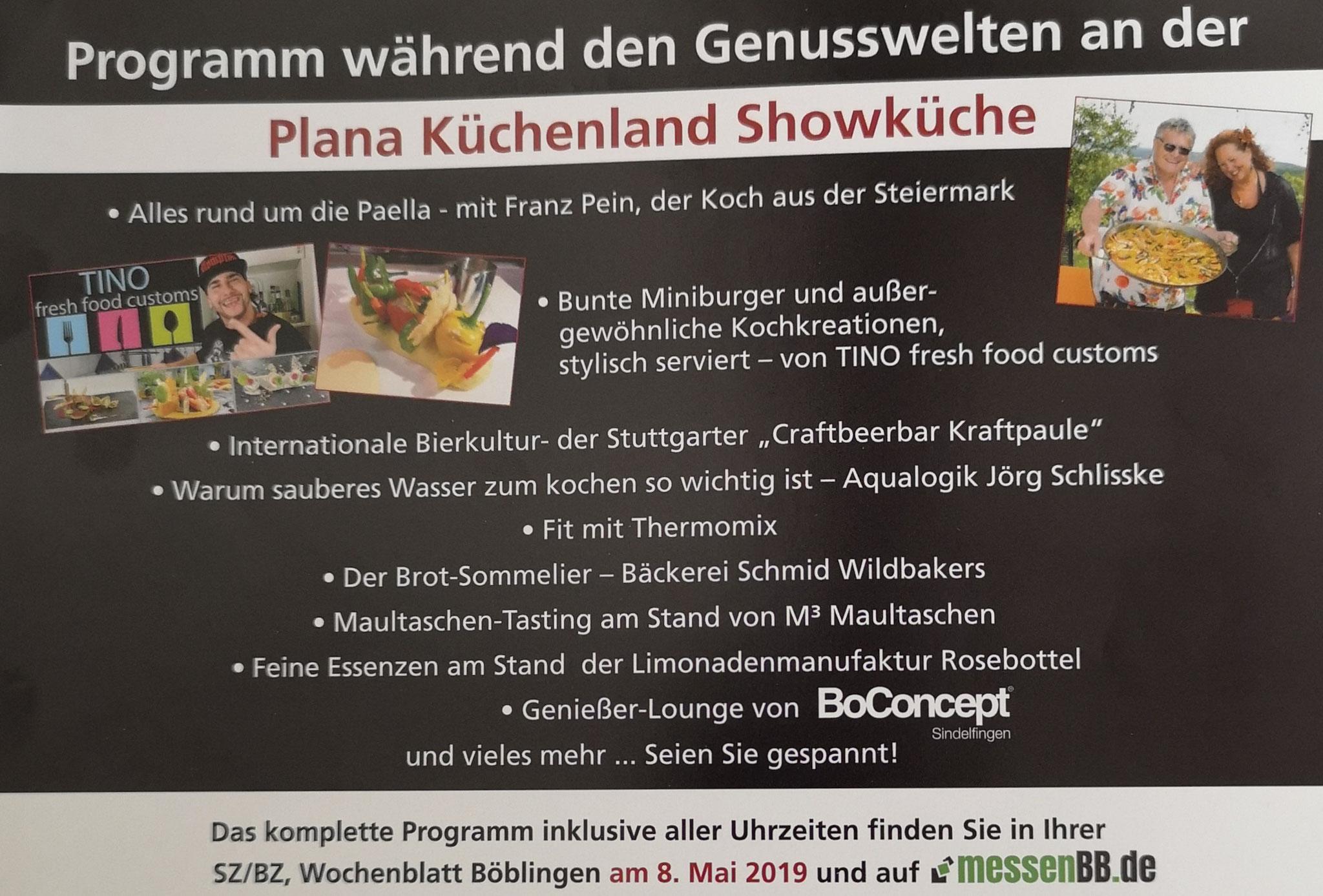 Messe Genusswelten Sindelfingen SZBZ 2019