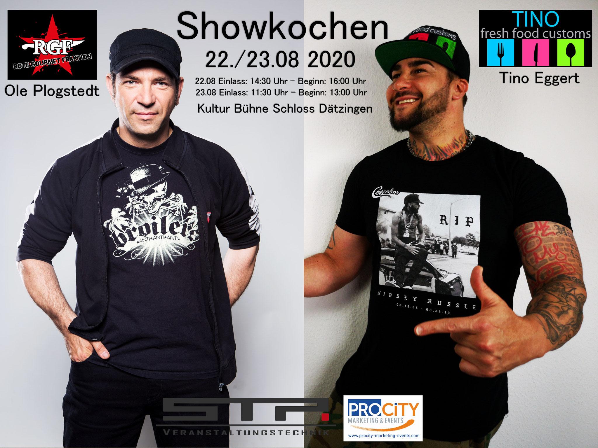 Showkochen mit TV Profi-Koch Ole Plogstedt