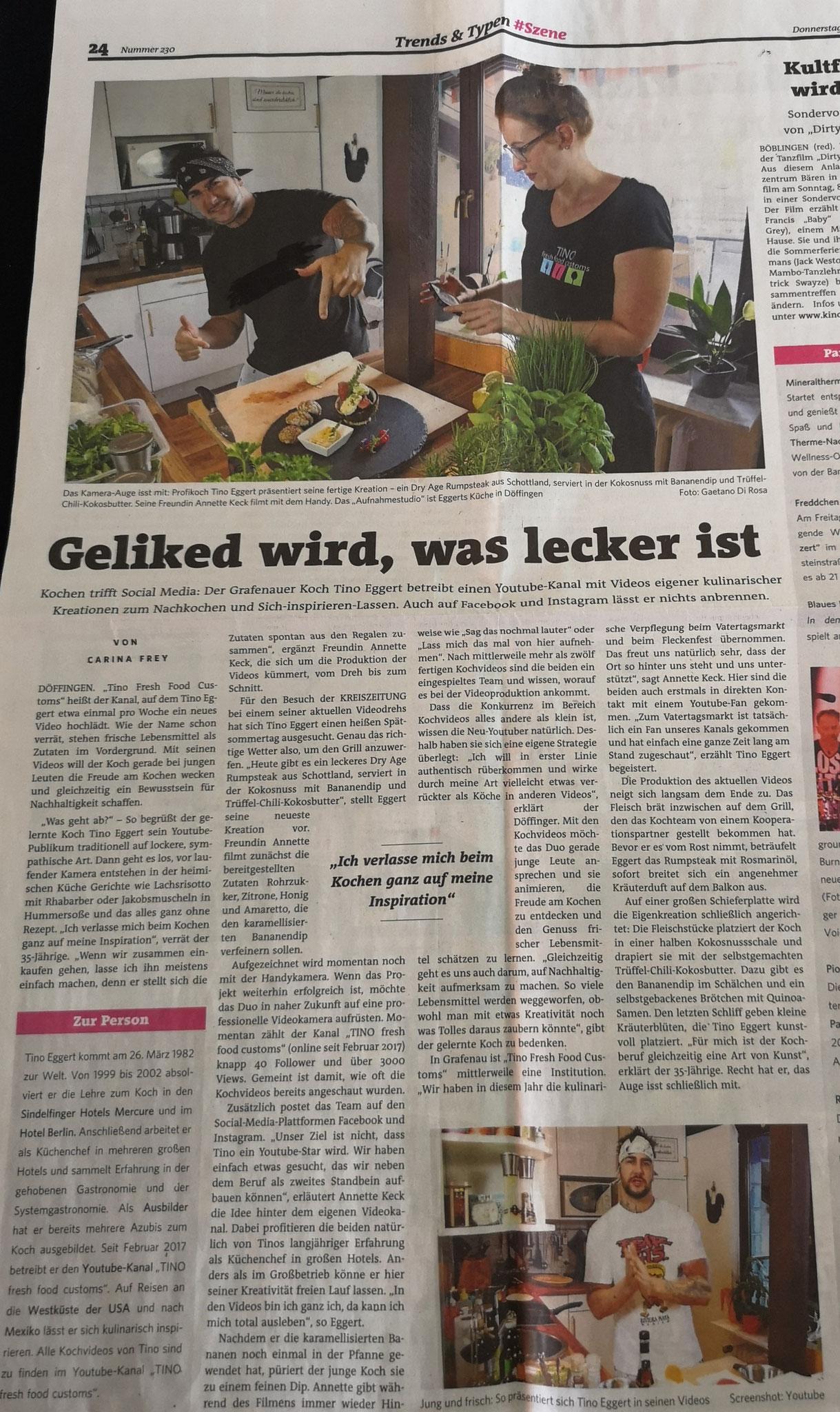Böblinger Bote Nr. 230 2017