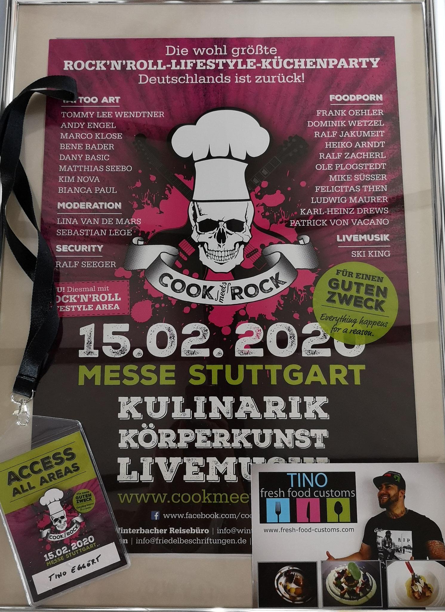 Cook meets Rock  Messe Stuttgart 2020