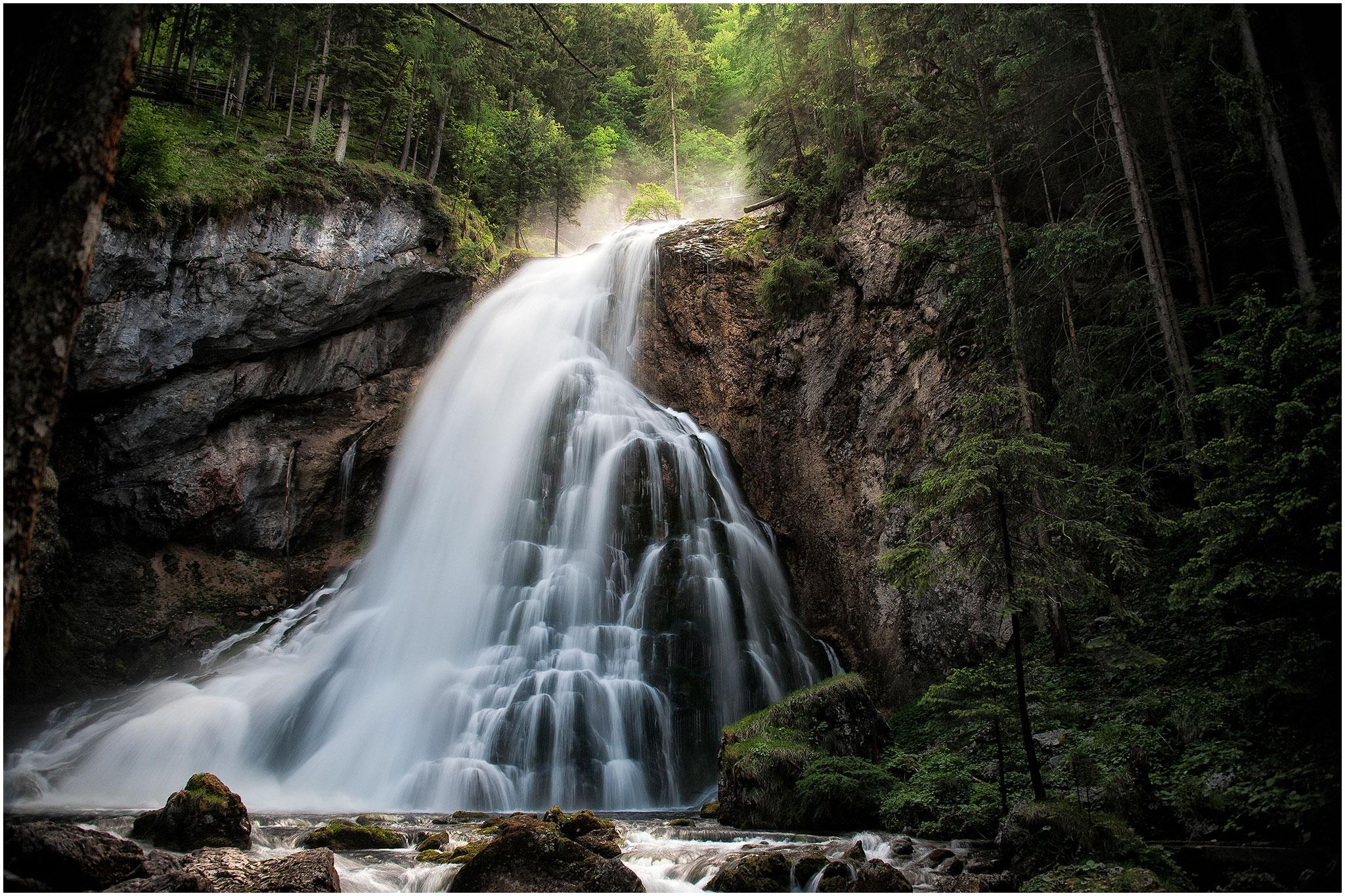 """Ing. Hans Luttinger - """"Gollinger Wasserfall"""" - 25 Pkt. - 4. Platz EW., 4. Platz GW."""