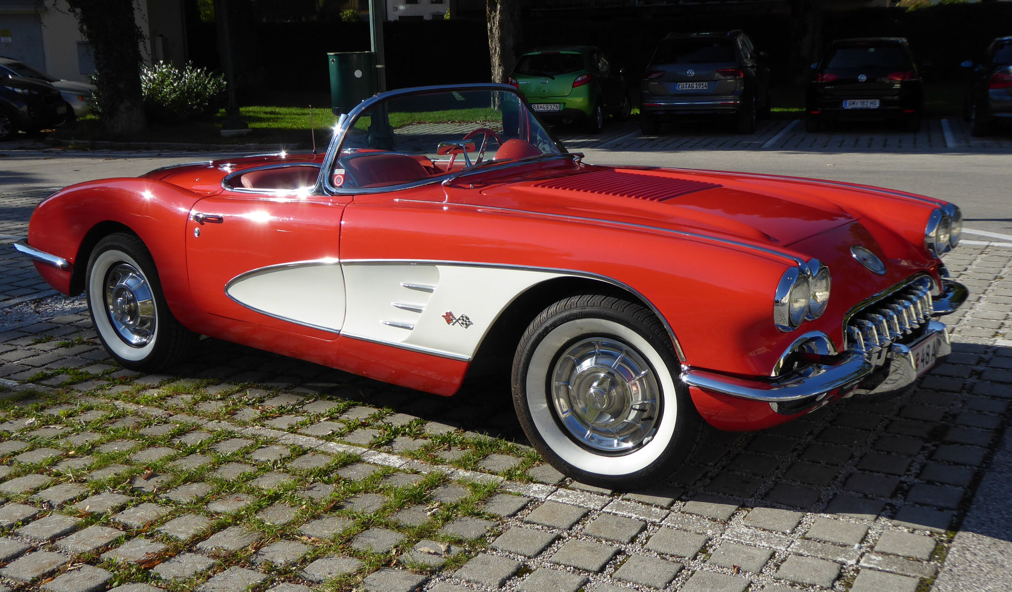 "Günther Schnitzer - ""Corvette"" - 16 Pkt. - 5. Platz GW."