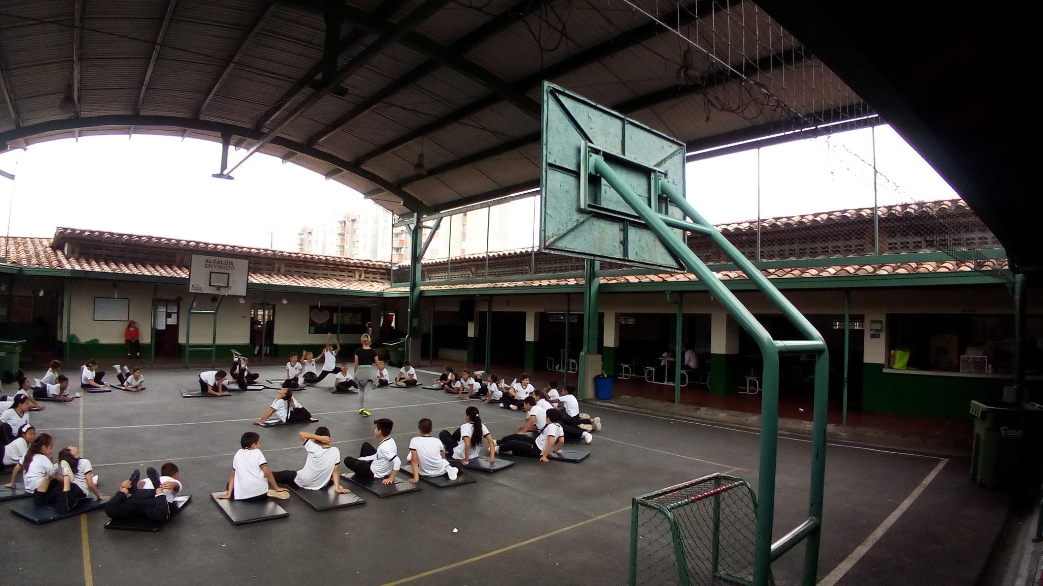 Clase de Educación Física