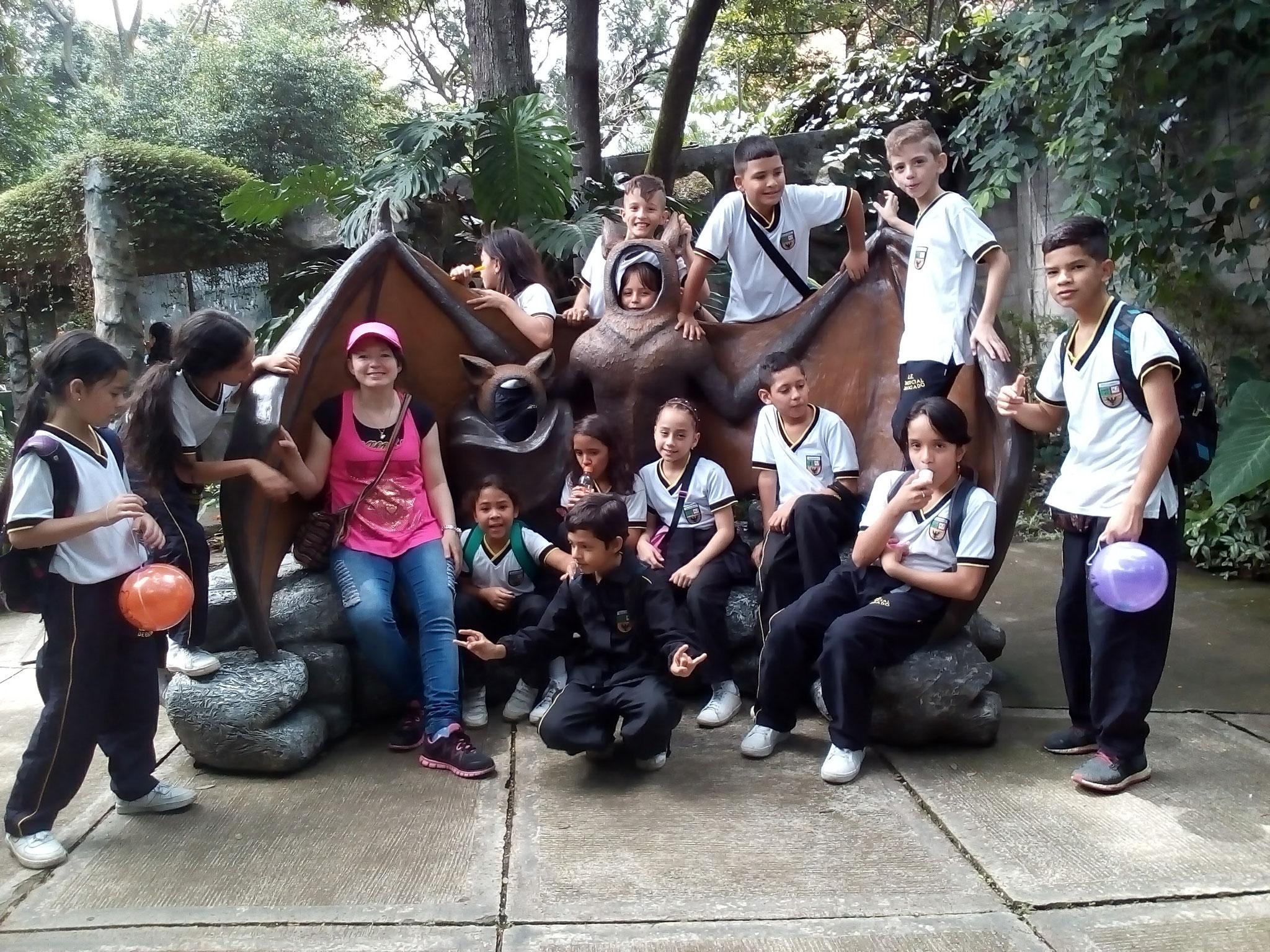 Visita al Parque Ecológico Santafé