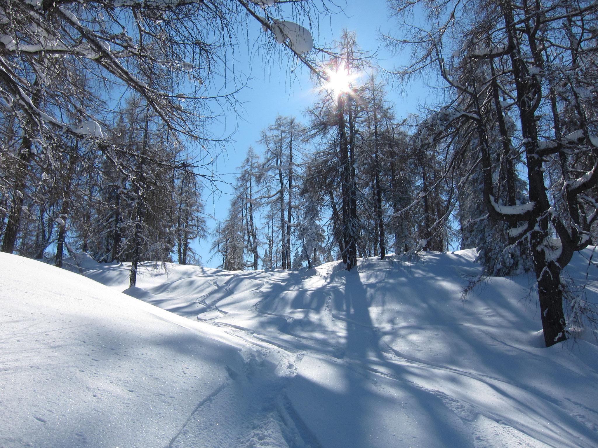 Skitour  ©Christine Bleisch