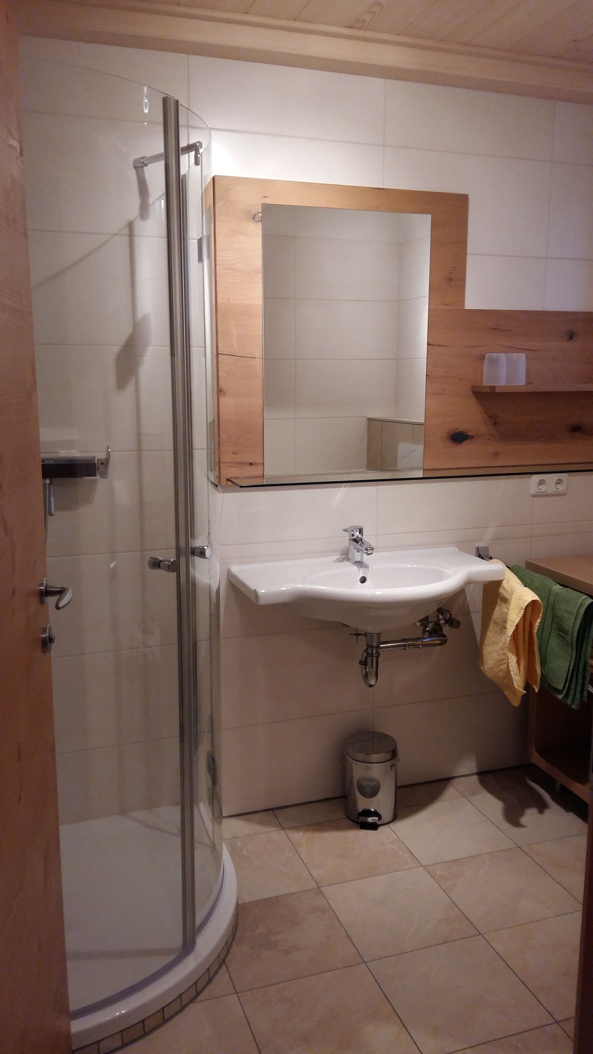 Bathroom Apartment Donnerkogel  ©Christine Bleisch